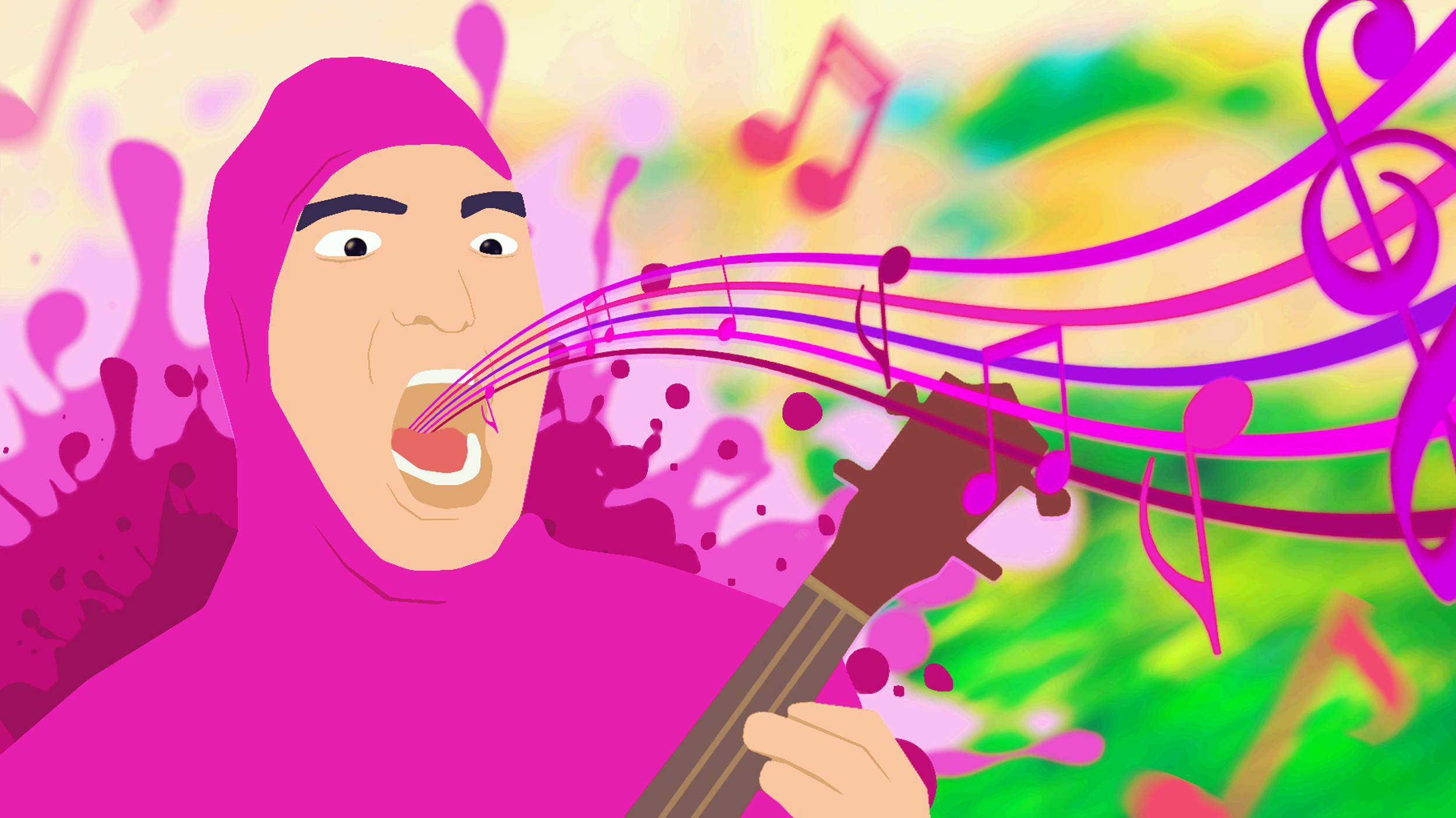 Pink Guy Wallpaper – 2500 x 1405 …