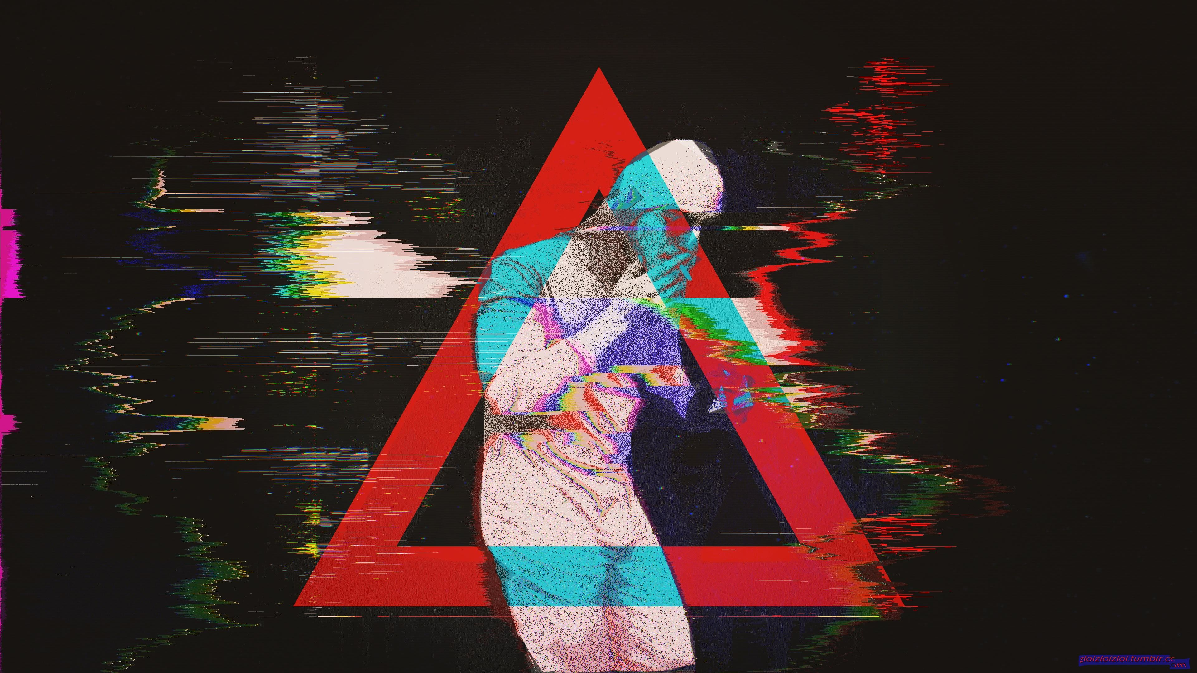 [3840×2160] Glitch Filthy Frank Abstract Smoke /r/wallpapers …
