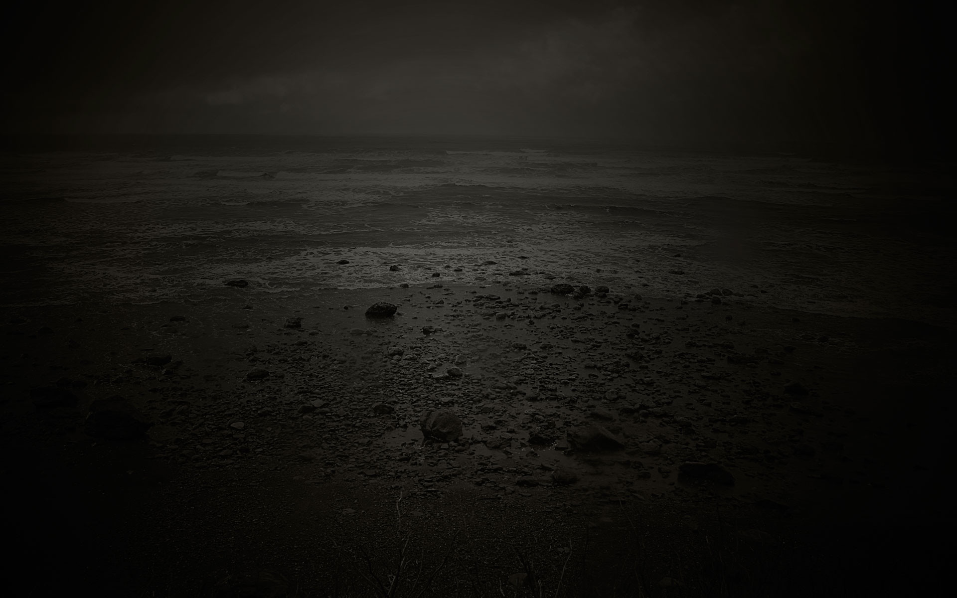 Beach depressing photos 1920×1200.