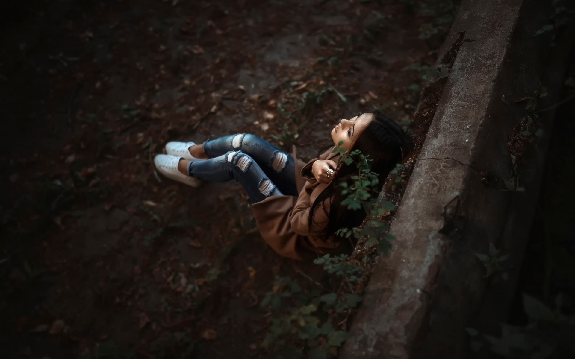 Lonely Girl Hidden Face 2015 | wallpapers hd | Pinterest | Lonely girl and  Lonely