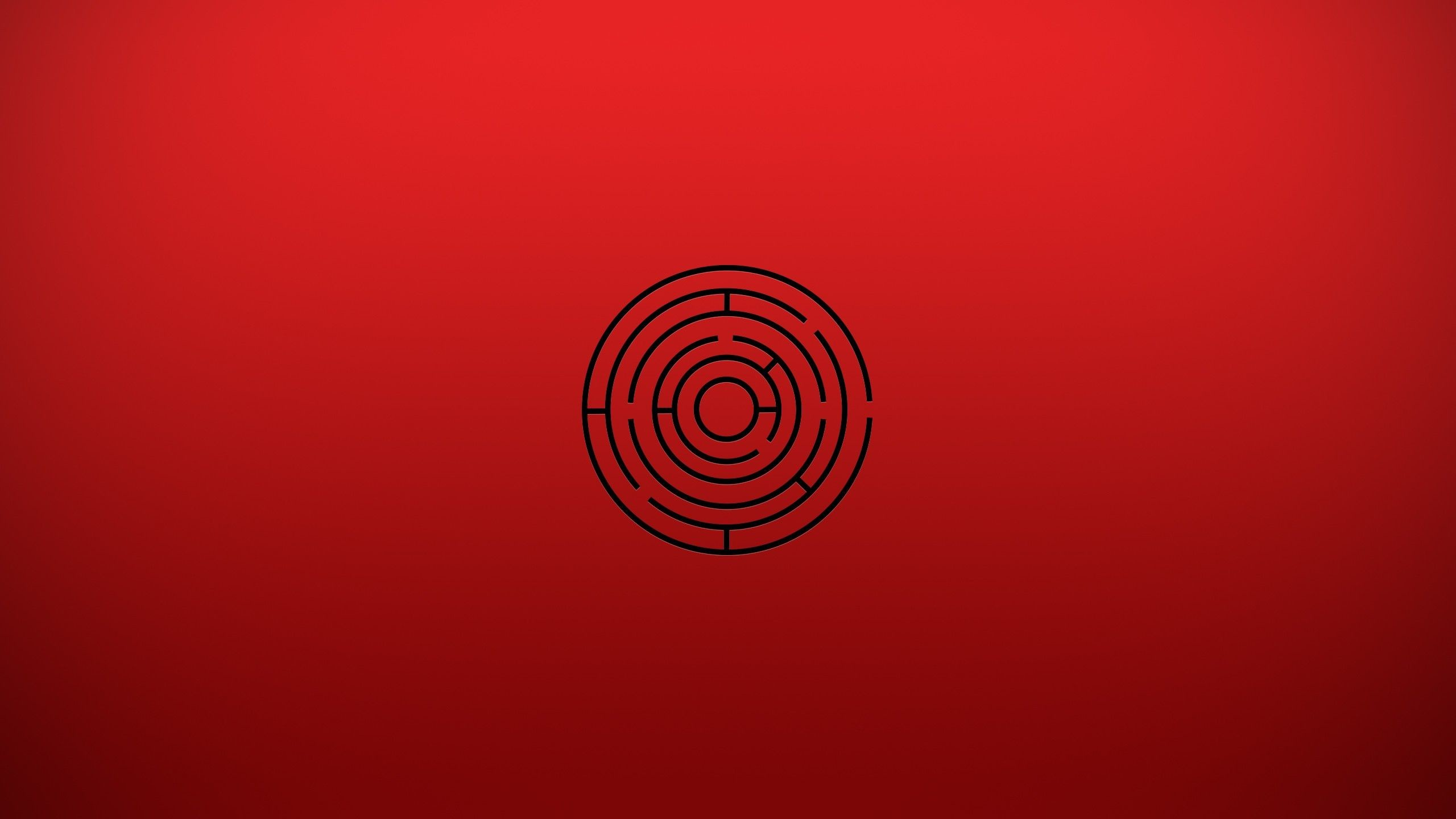 Minimalistic Labyrinth YouTube Channel Cover