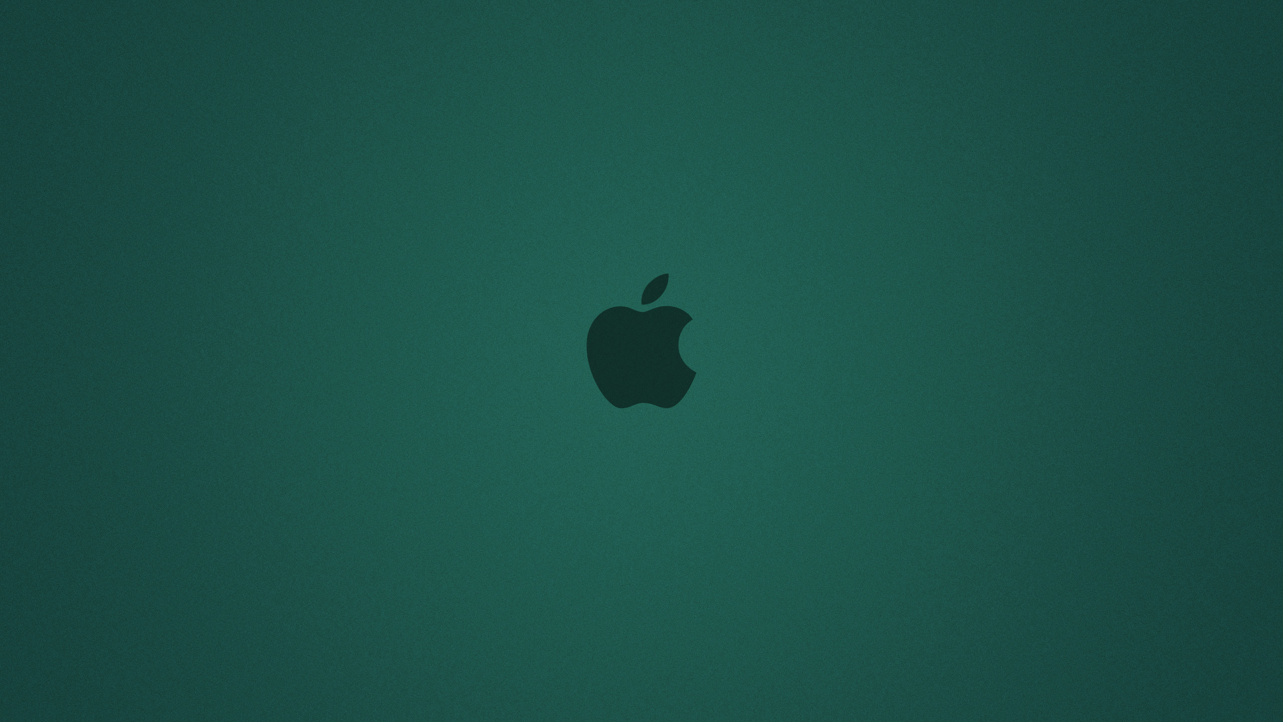 Cyan Apple Background YouTube Channel Cover