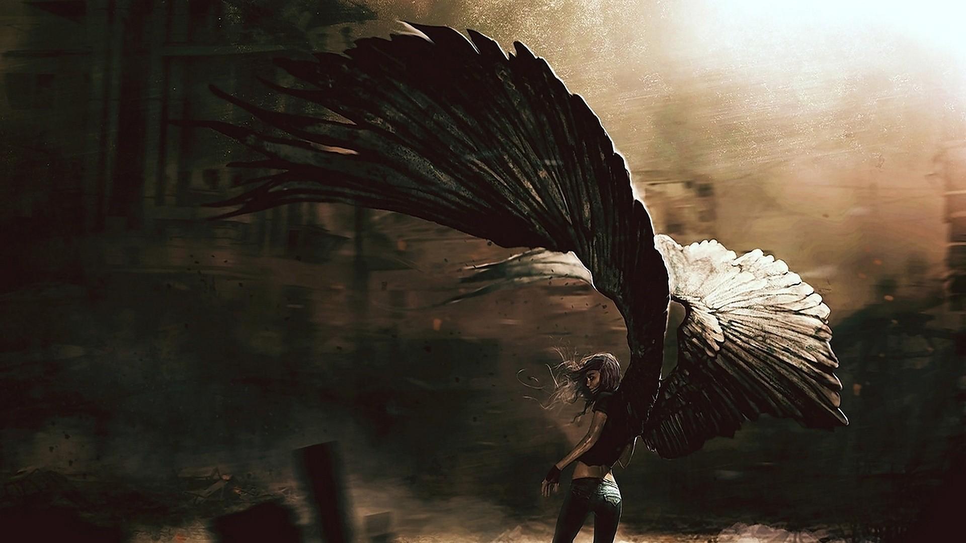 Anime-Fallen-Angel-HD-Wallpaper.jpg (1920×1080) | angels | Pinterest | Angel  wallpaper, Anime angel and 3d wallpaper