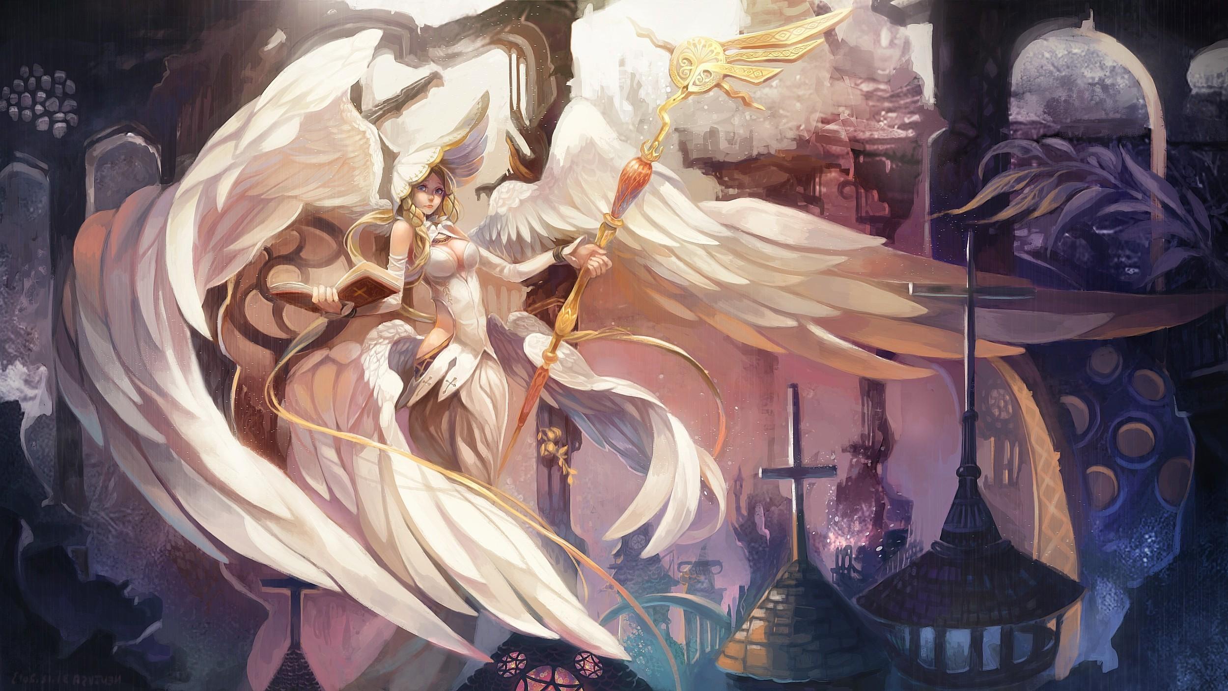 women, Fantasy Art, Angel, Wings Wallpapers HD / Desktop and Mobile  Backgrounds