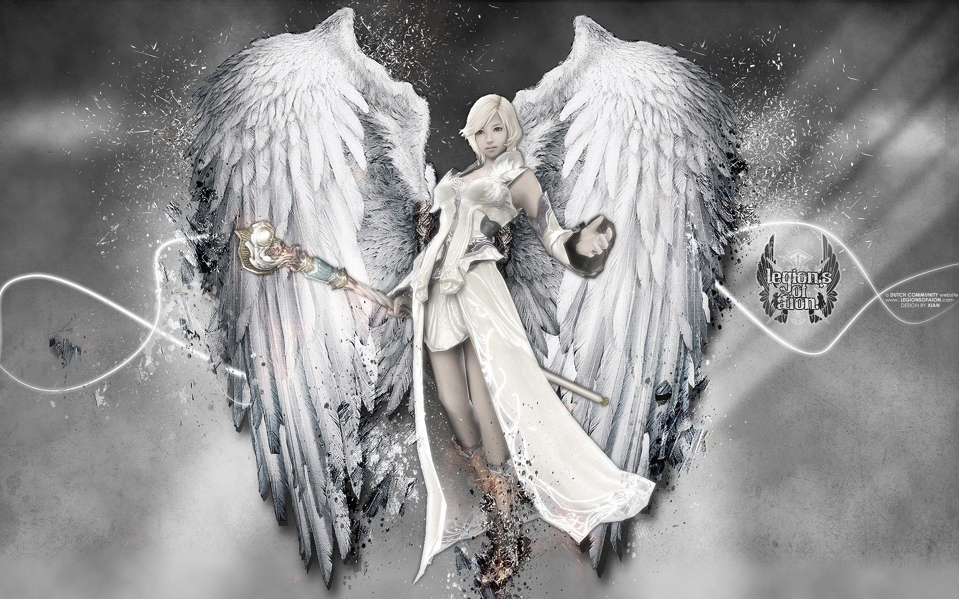 Video Game – Aion Angel Wings Wallpaper