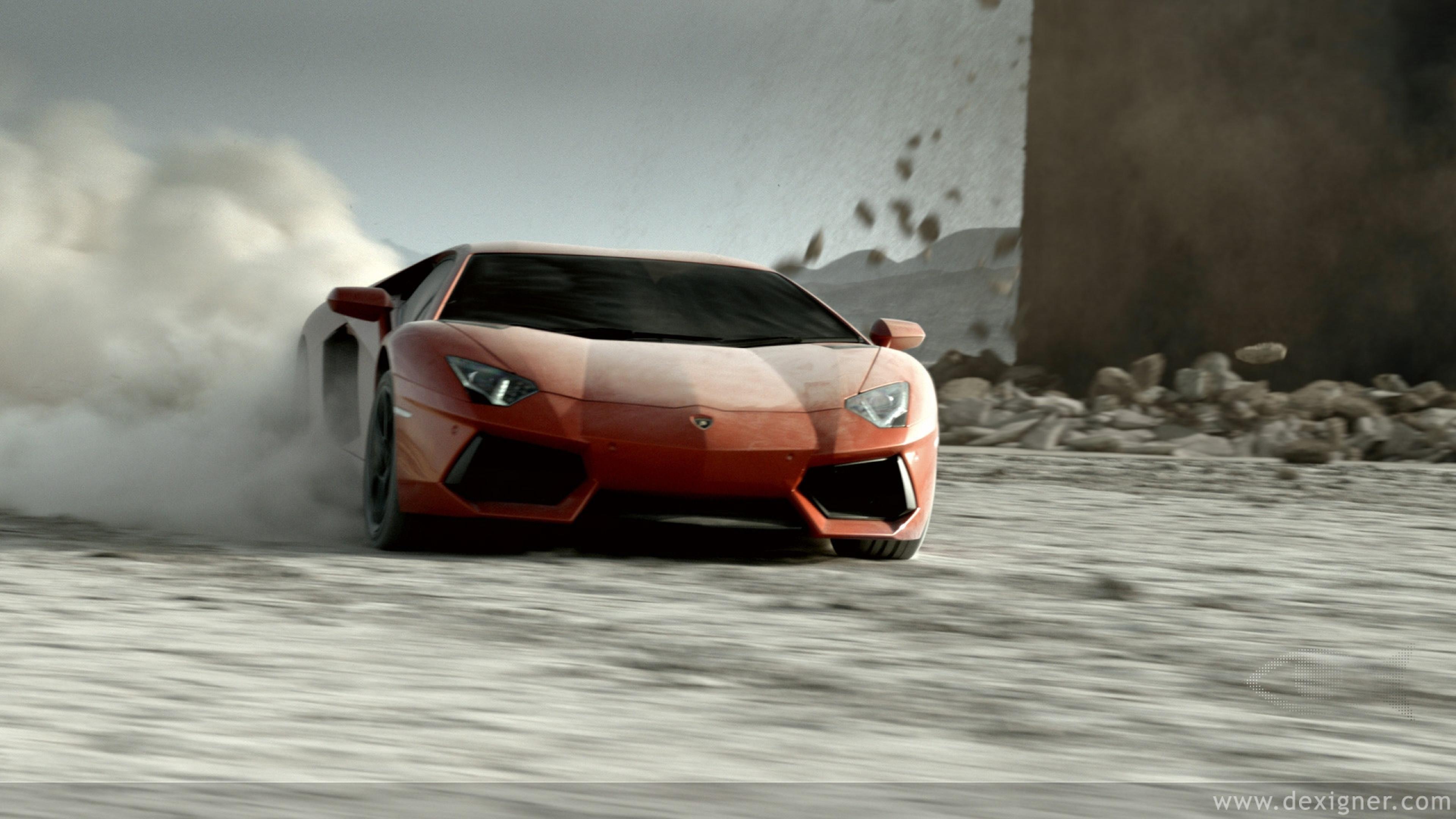Lamborghini aventador v12 Ultra HD 4K Wallpapers