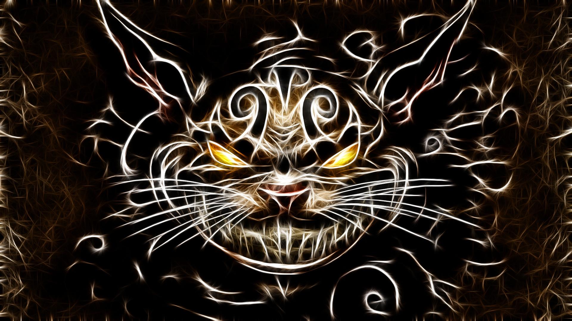 Image – Cats fractalius cheshire cat american mcgees alice desktop  hd-wallpaper-1197515.jpg   Creepypasta Wiki   FANDOM powered by  Wikia