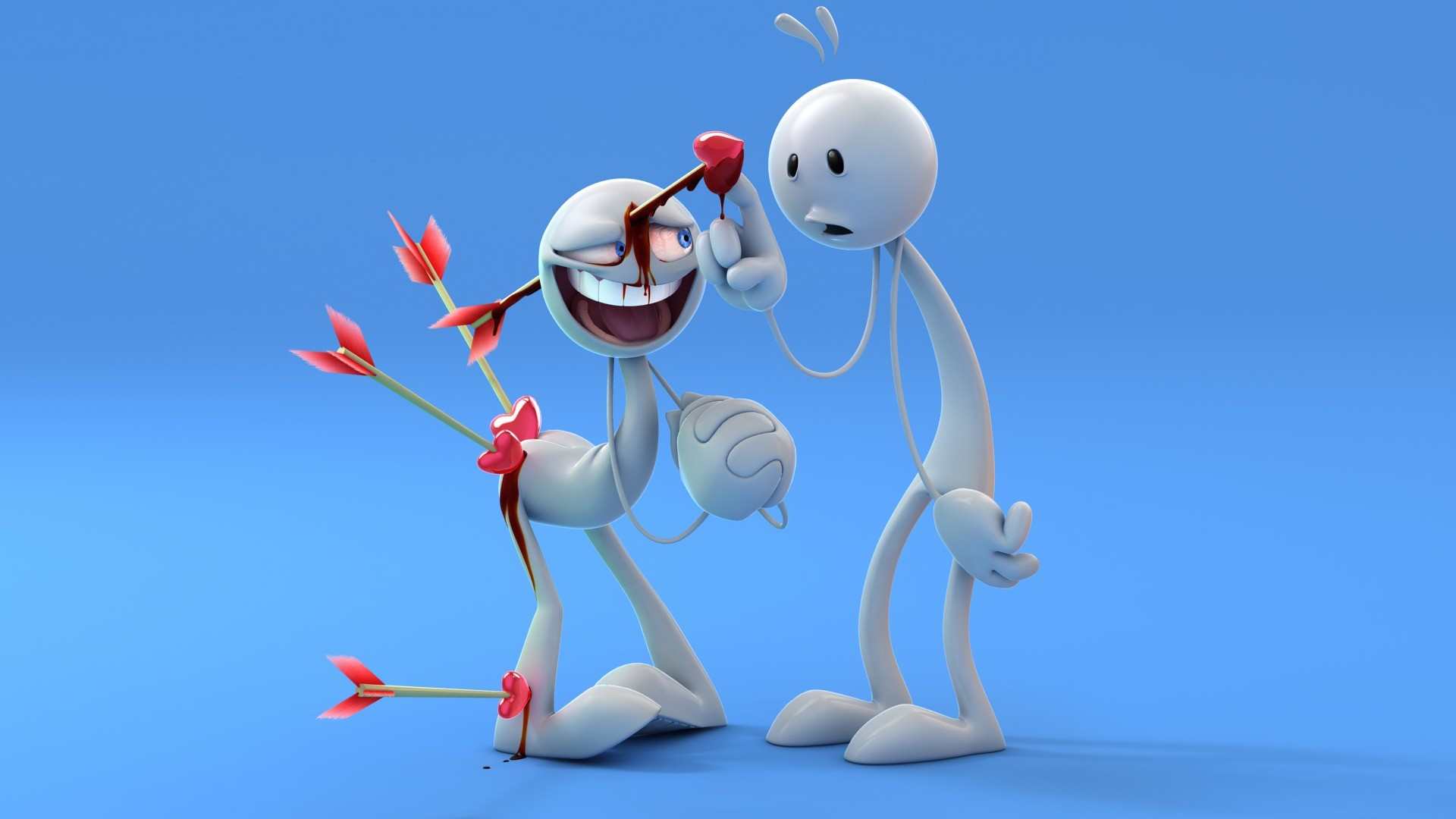 Funny Love Cartoon Images HD Wallpaper