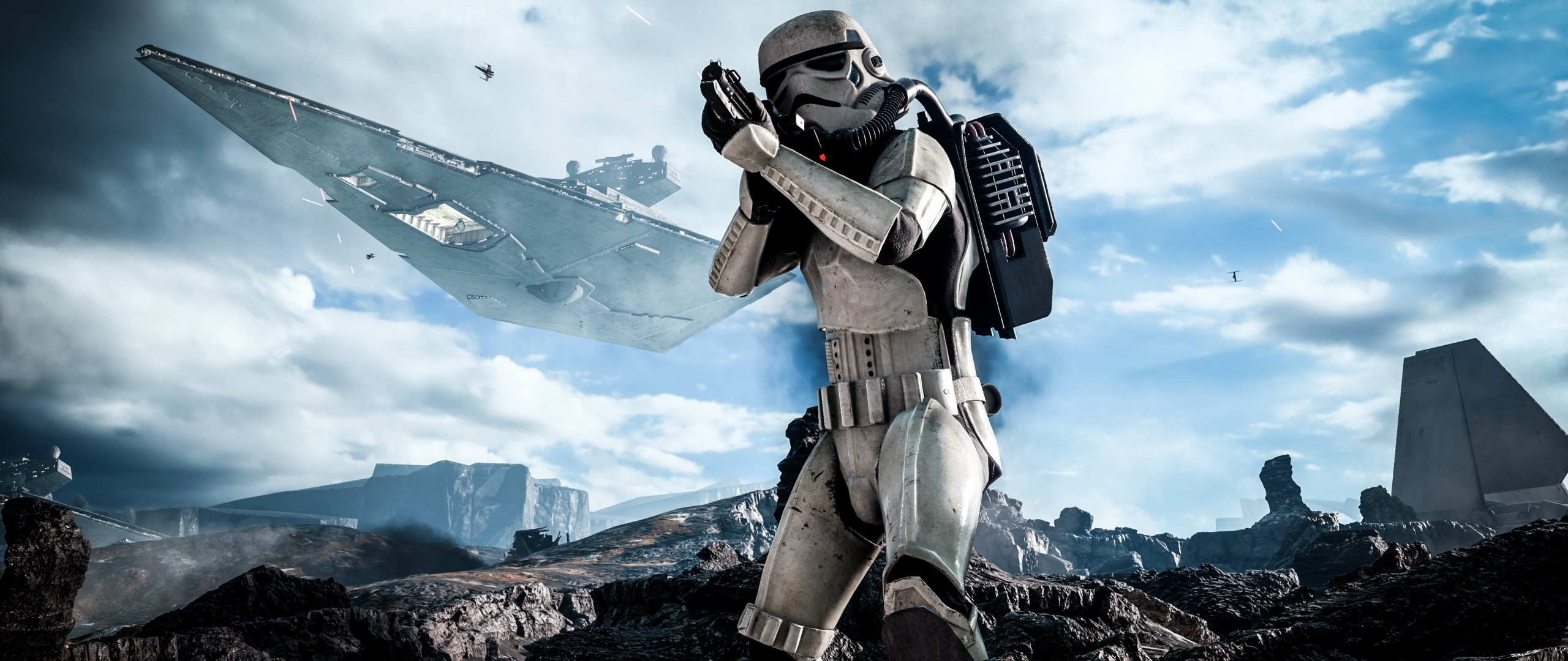 Preview wallpaper star wars, battlefront, electronic arts 2560×1080