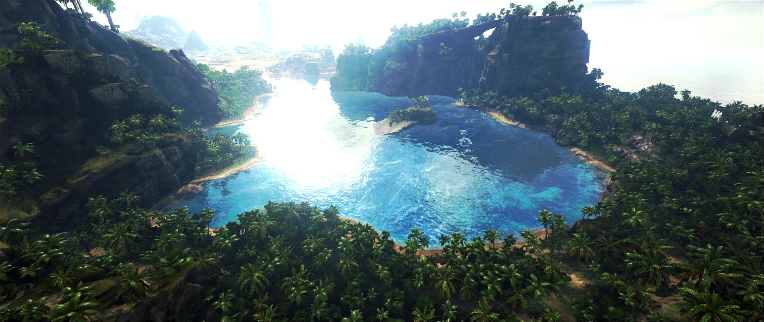 Video Game – ARK: Survival Evolved Lake Jungle Wallpaper