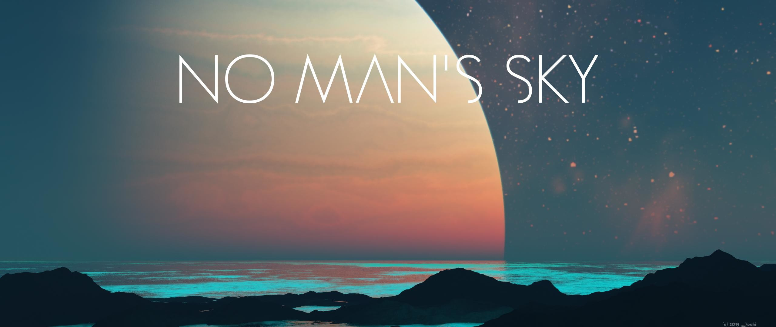 No Man's Sky Dual Monitor Wallpaper 2560×1080