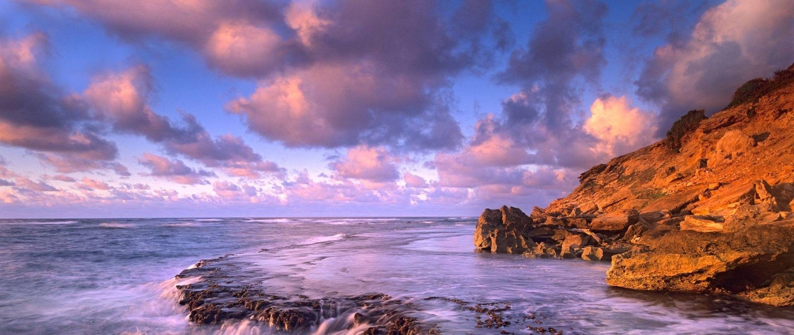 Download Wallpaper Sea, foam, Light 21 .