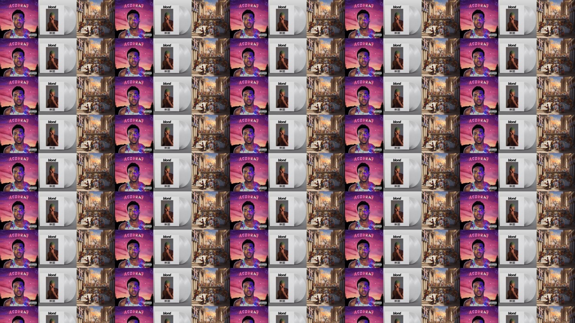 Chance Rapper Acid Rap Frank Ocean Blonde Logic Wallpaper