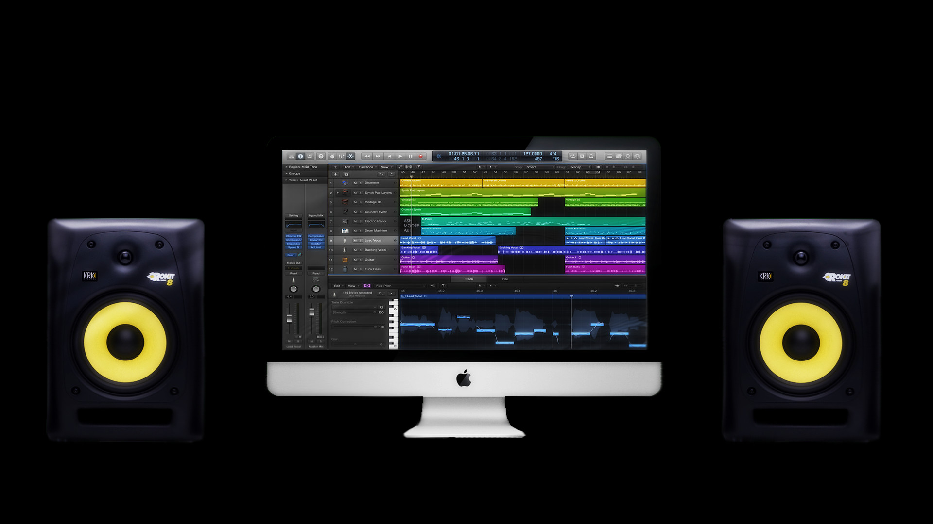Apple Logic Pro X 10.0.7 (Mac OS X) Retail CORE [ChingLiu