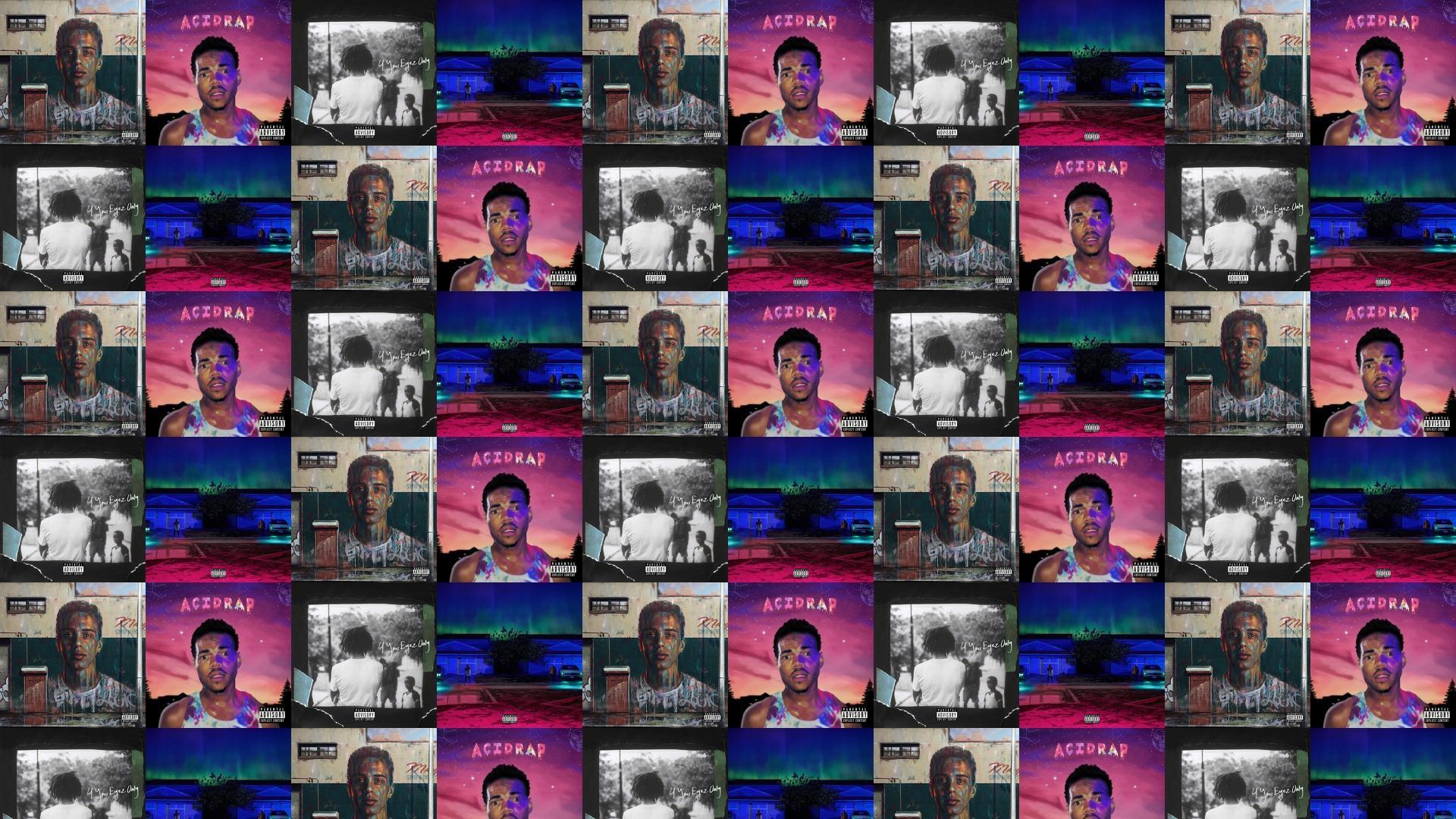 Logic Under Pressure Chance Rapper Acid Rap Wallpaper Â« Tiled Desktop  Wallpaper