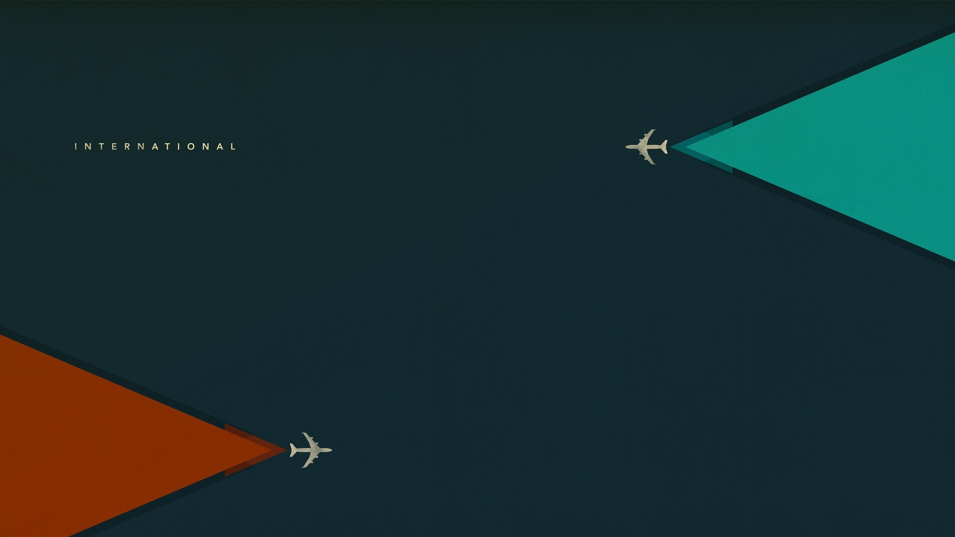 Preview wallpaper minimalism, aircraft, flight 1920×1080
