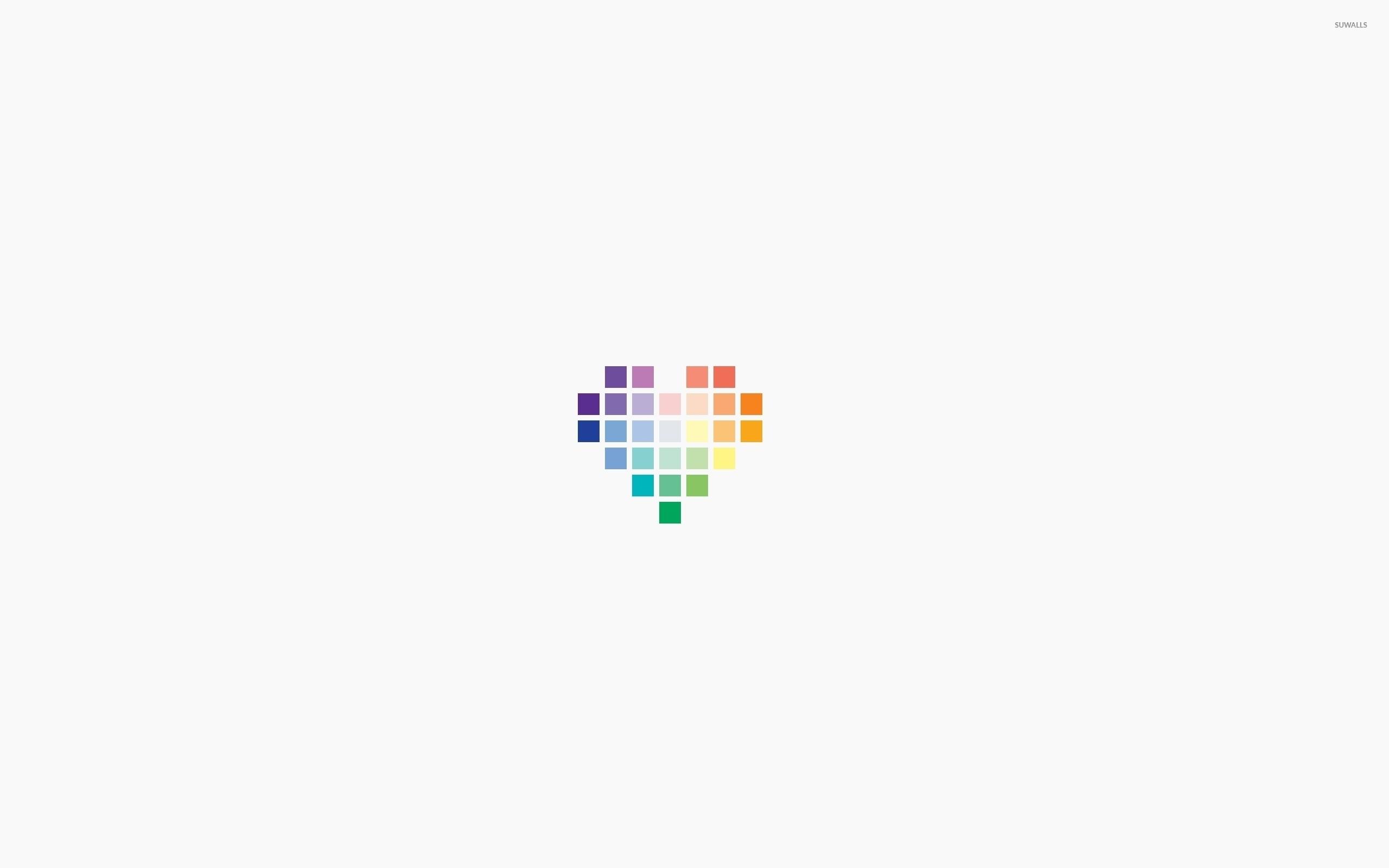 Squared heart wallpaper – Minimalistic wallpapers – #44547
