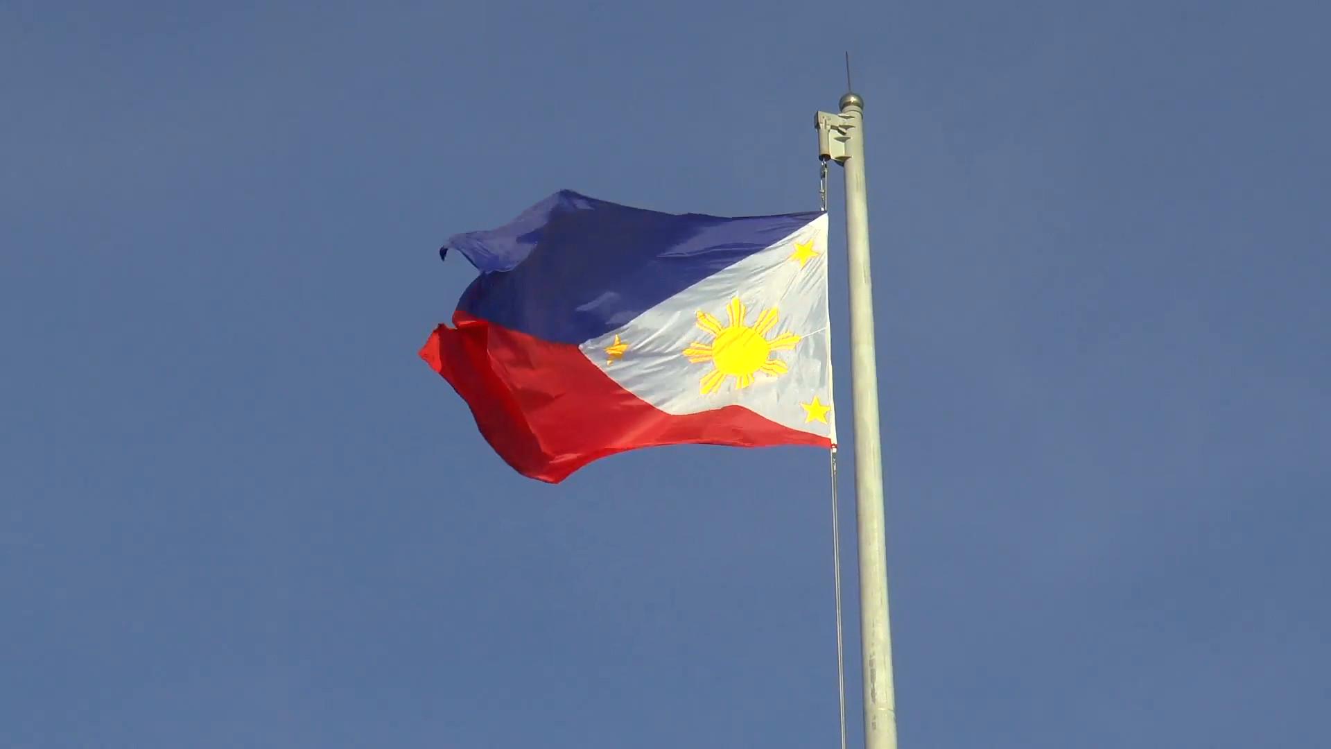 huge philippines flag – huge Philippine flag smoothly waving. Stock Video  Footage – VideoBlocks
