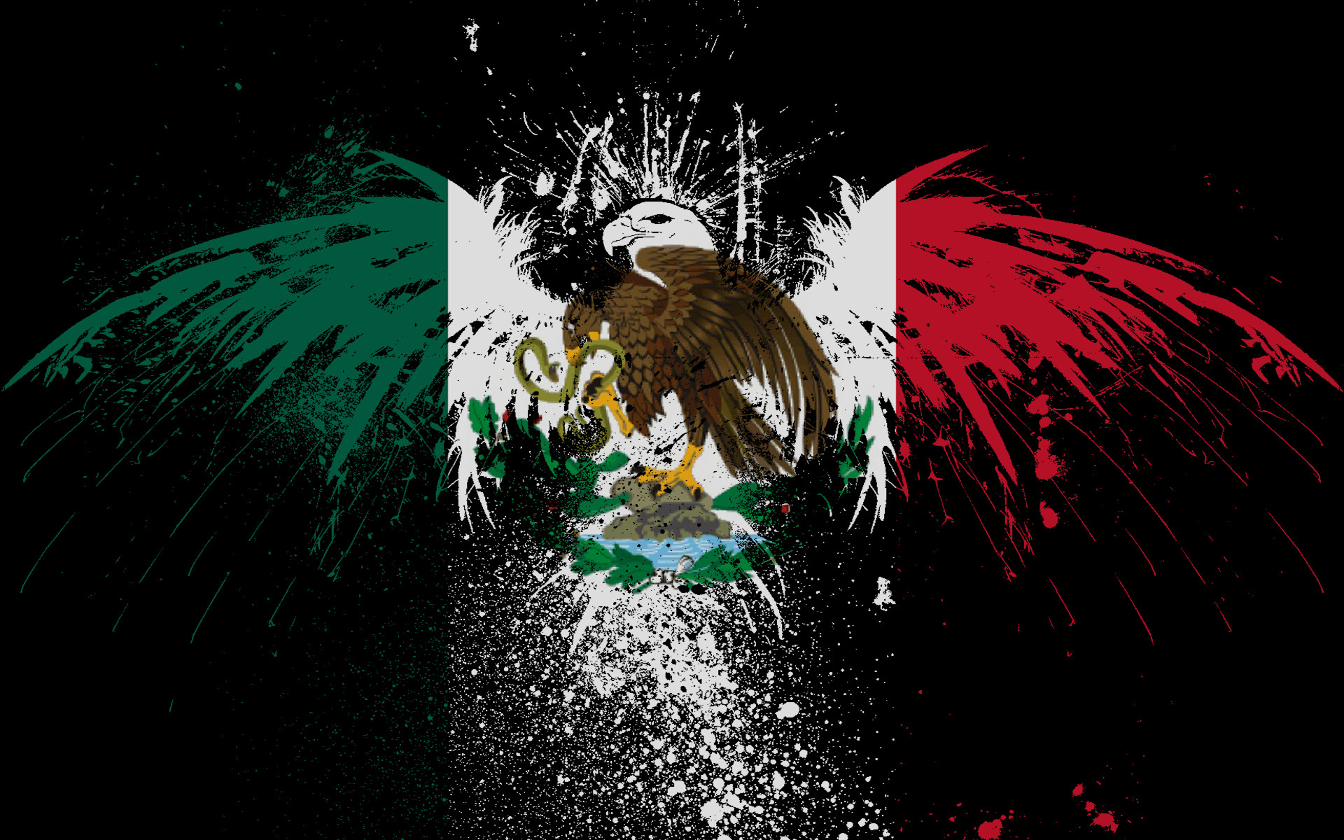 <b>Mexico Flag</b> Android <b>Wallpaper</
