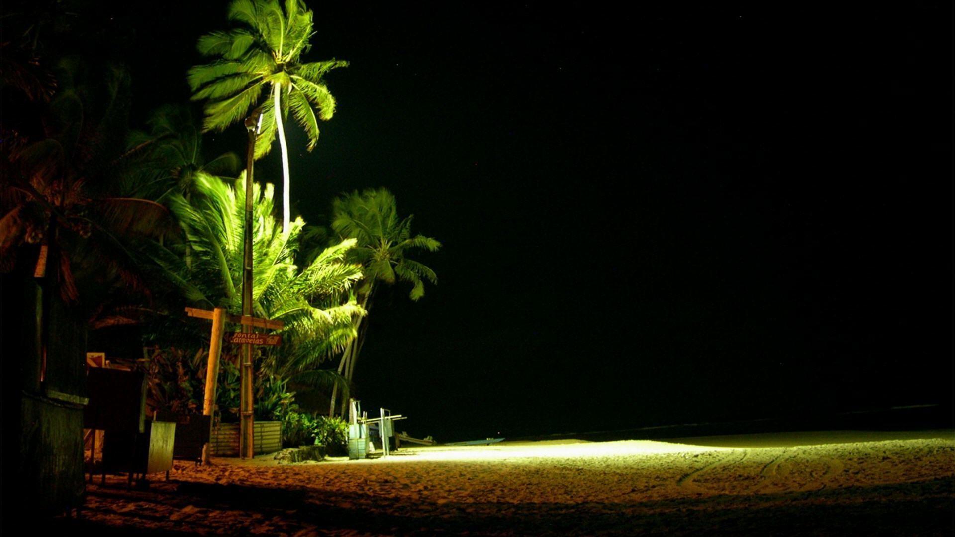 wallpaper.wiki-Beach-At-Night-Desktop-Photos-PIC-