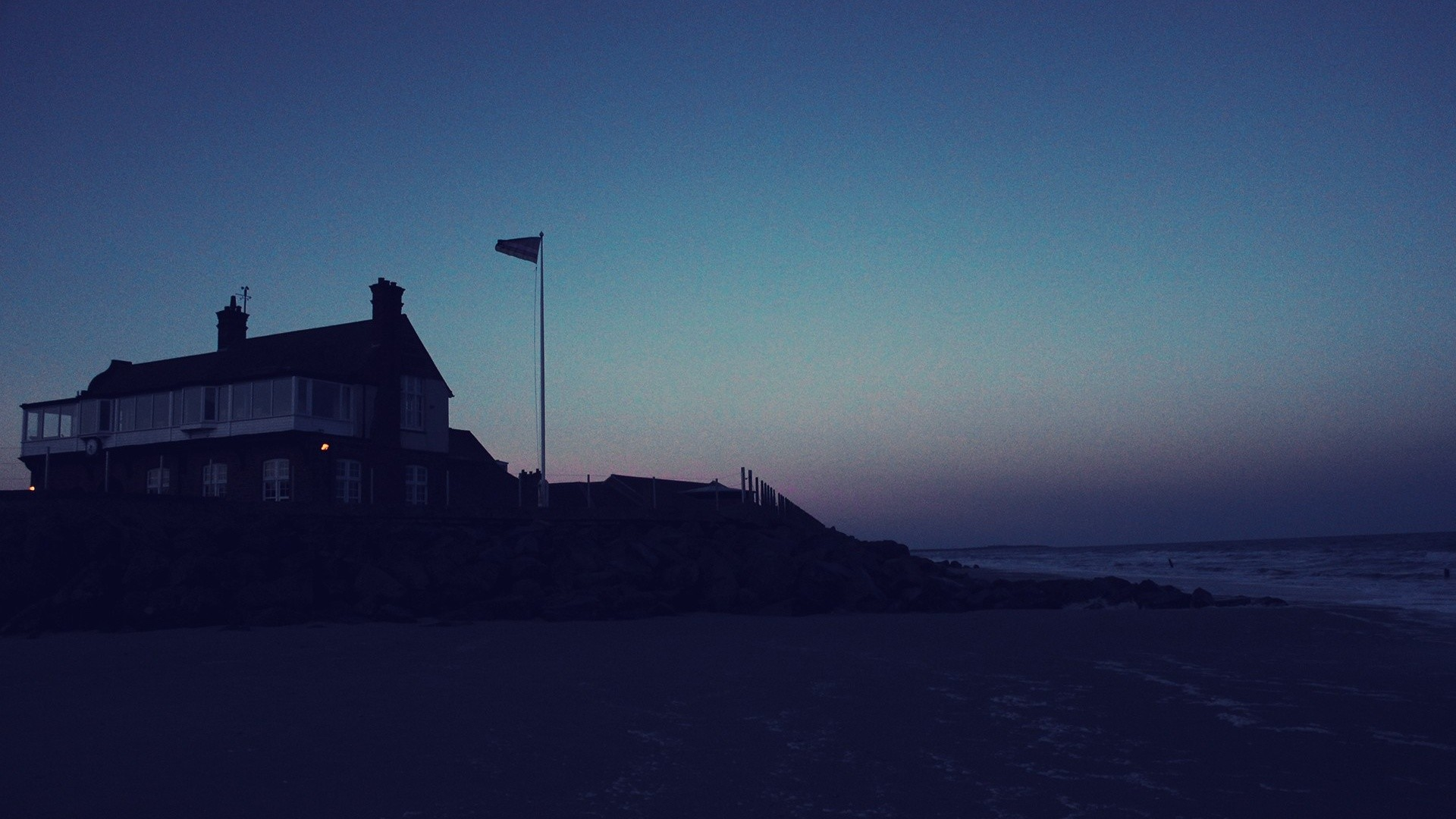HD Beach At Night Wallpapers | PixelsTalk.Net
