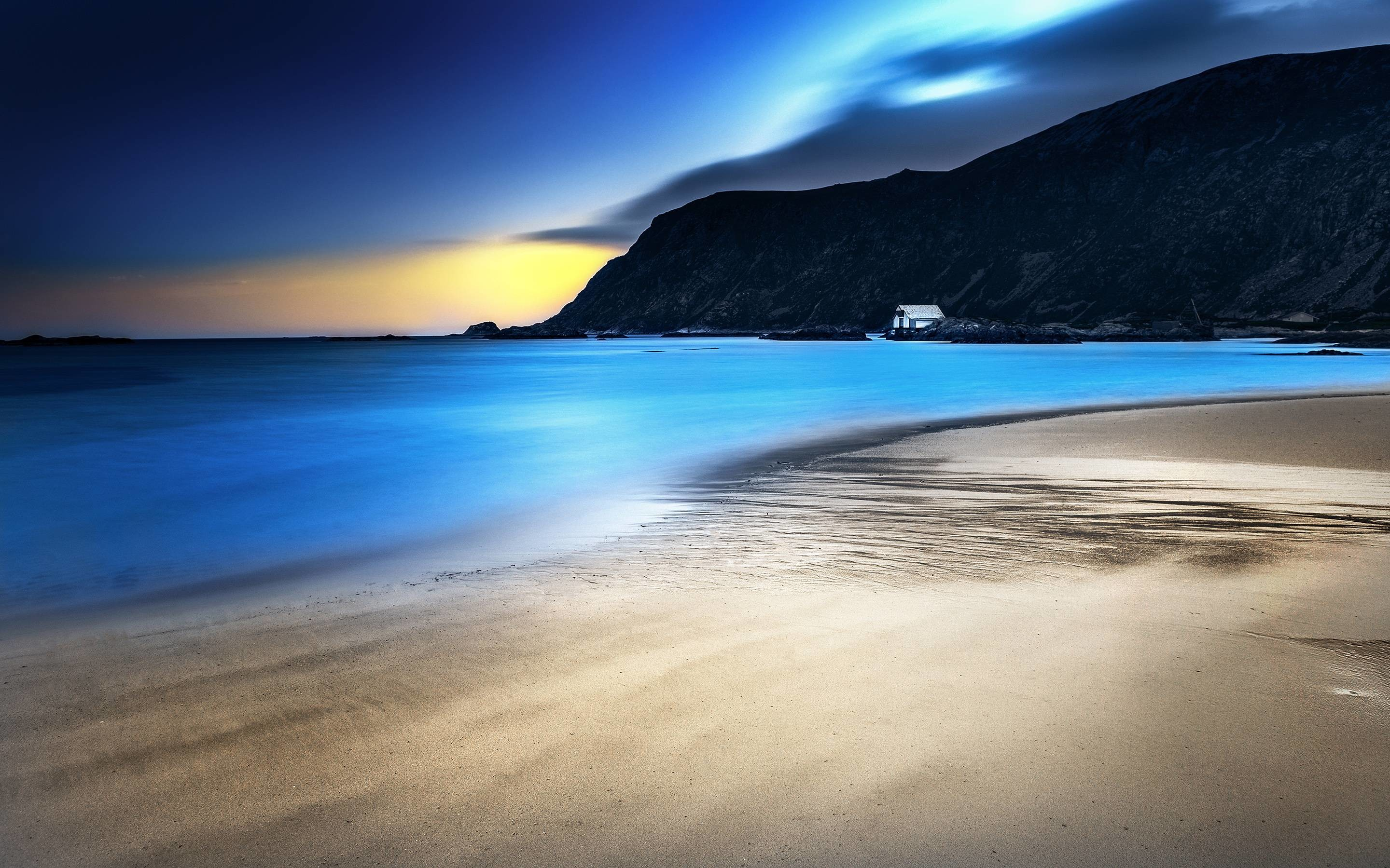 Beach At Night Wallpapers – Wallpaper Cave