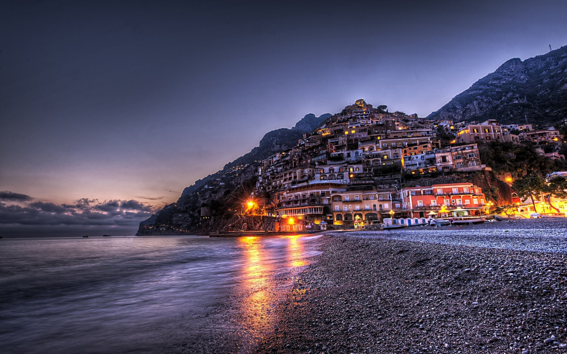Stunning Beach of Positano, Italy HD Wallpaper. Download …