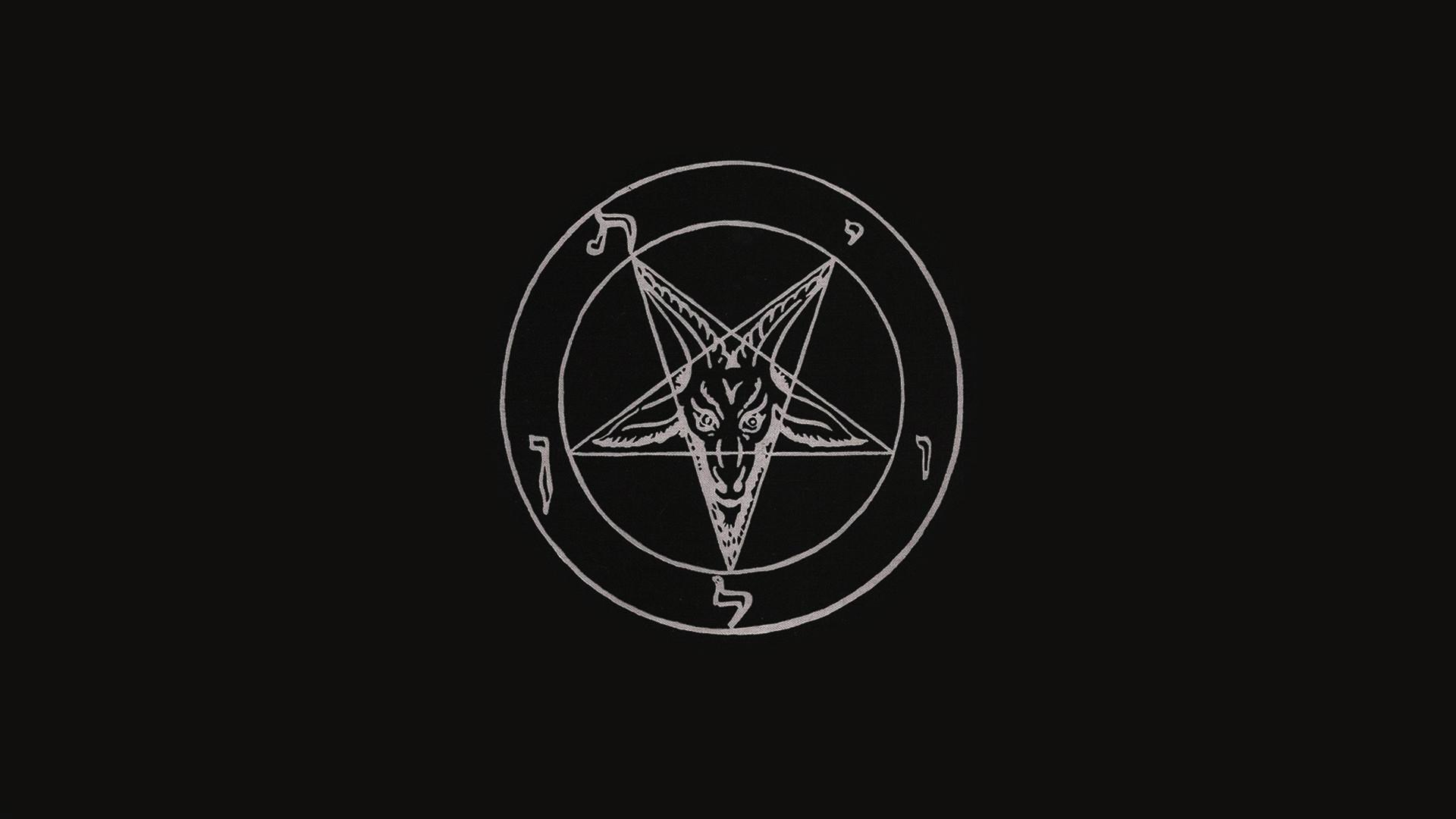 Download wallpaper Hell's Kitchen Baphomet, Baphomet, Satan, pentagram.,  Baphometh, section