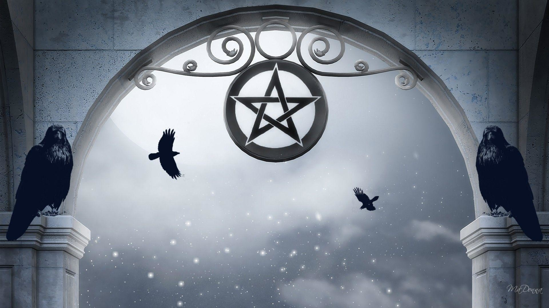Wallpapers For > Pentagram Wallpaper