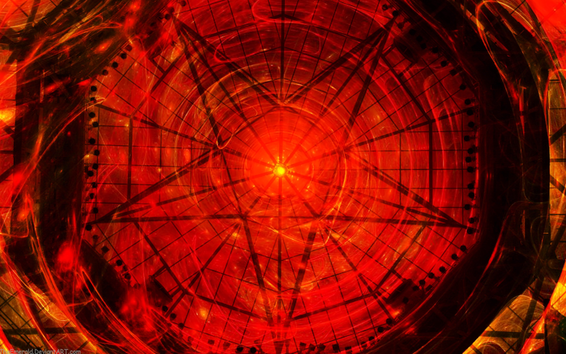By Natalia Matzen PC.65: Satanic Pentagram Pics