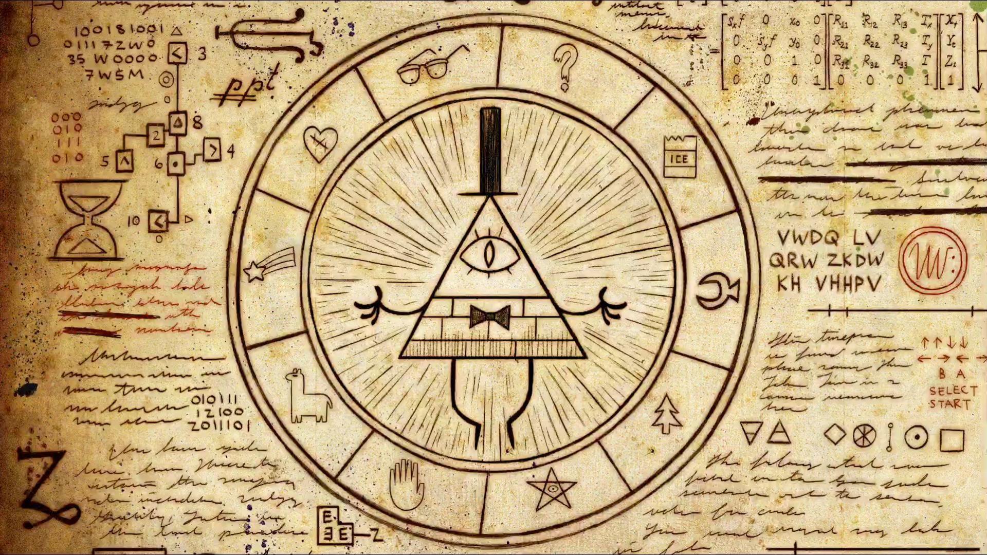 Illuminati Gravity falls Pentagram HD Wallpapers, Desktop .
