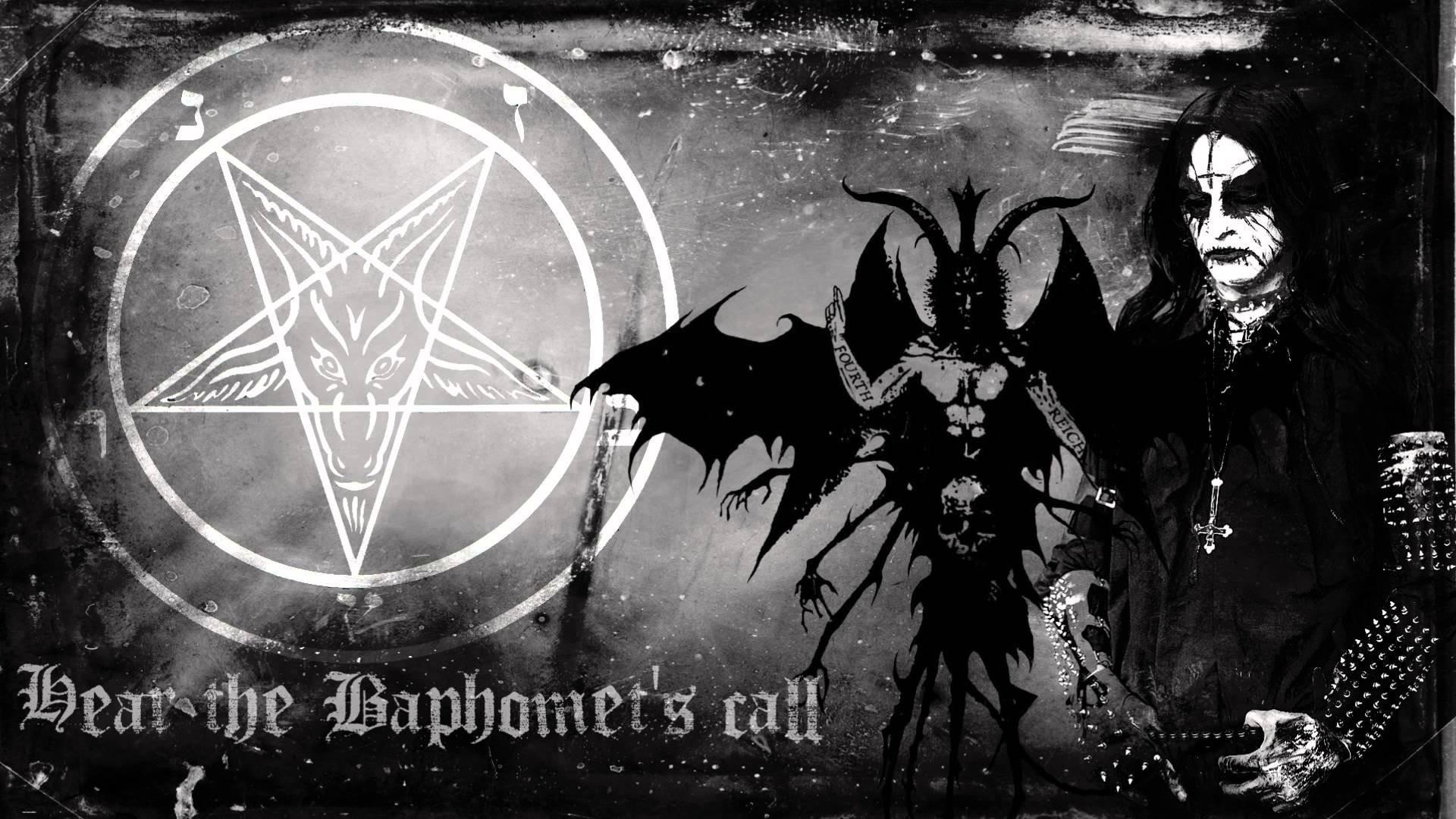 BEHEXEN black metal heavy poster dark occult satanic pentagram h wallpaper