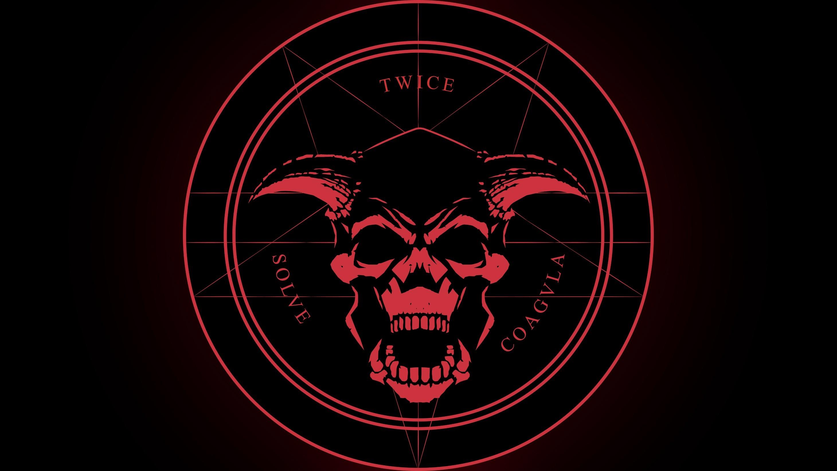 skull, Demon, Latin, Horned, Pentagram, Satanism, Devils, Satanic, Evil,  Doom (game) Wallpapers HD / Desktop and Mobile Backgrounds