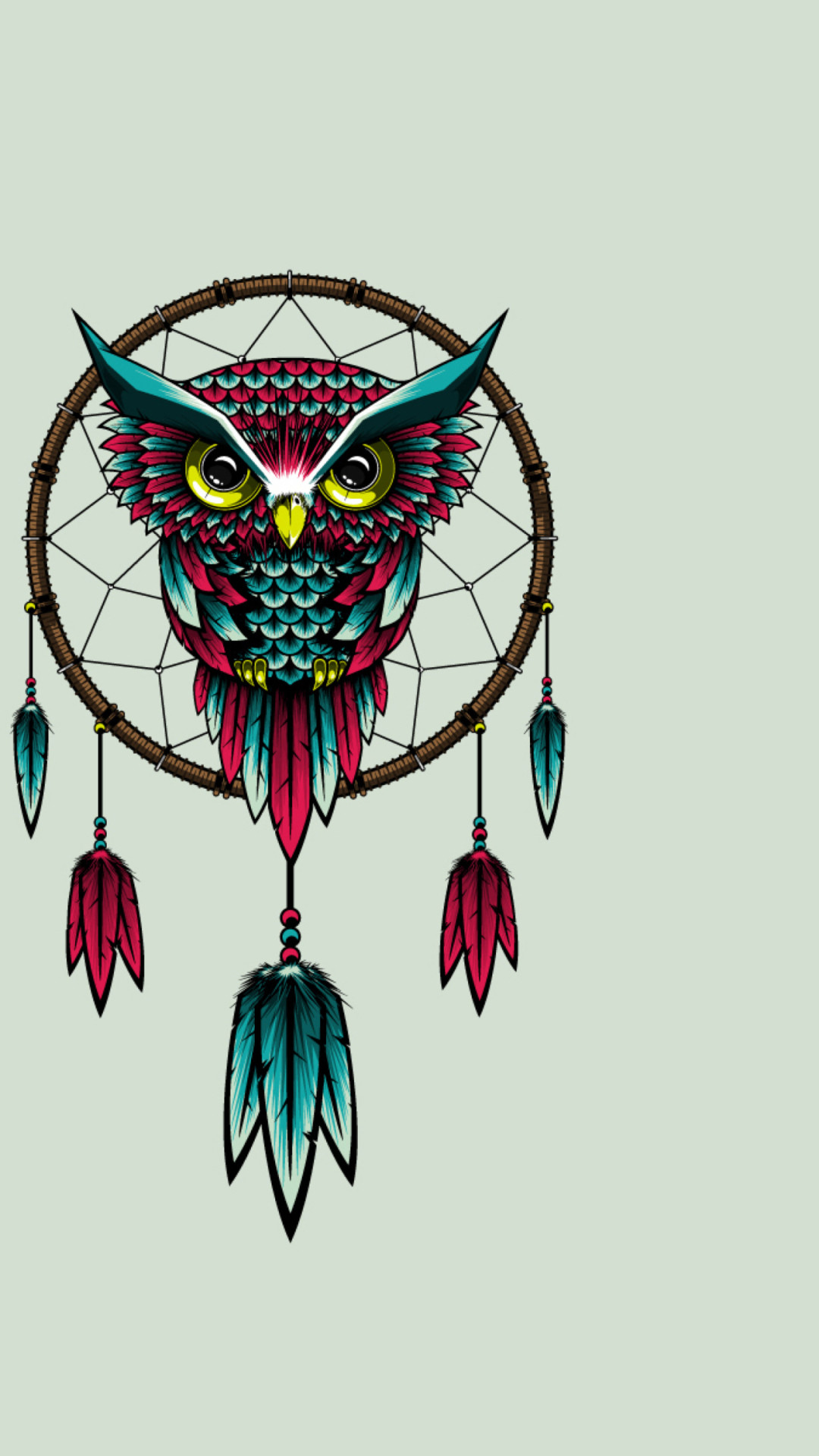 Owl Bird Dreamcatcher – Tap to see more beautifully creative dreamcatcher  wallpapers!