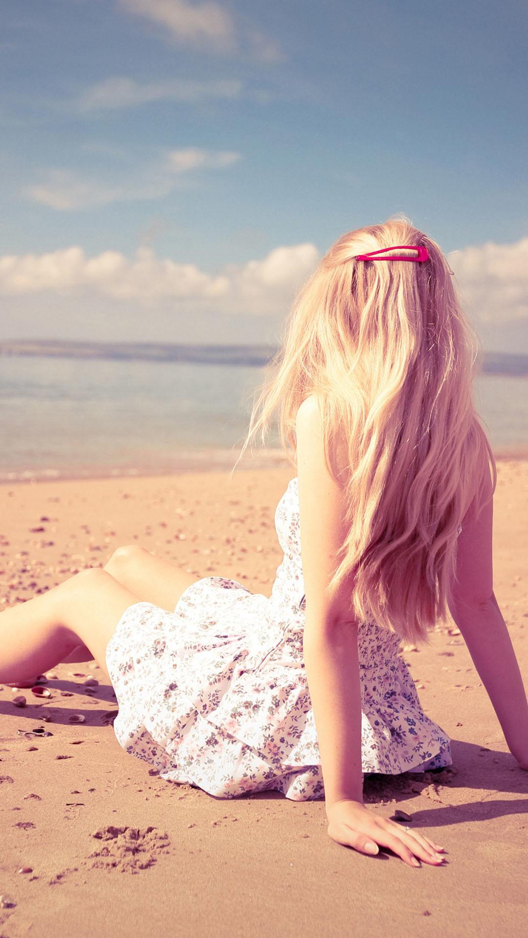 Related iPhone Wallpapers. Skater Girl Skater Girl · Blonde Girl Beach Sea  Sand