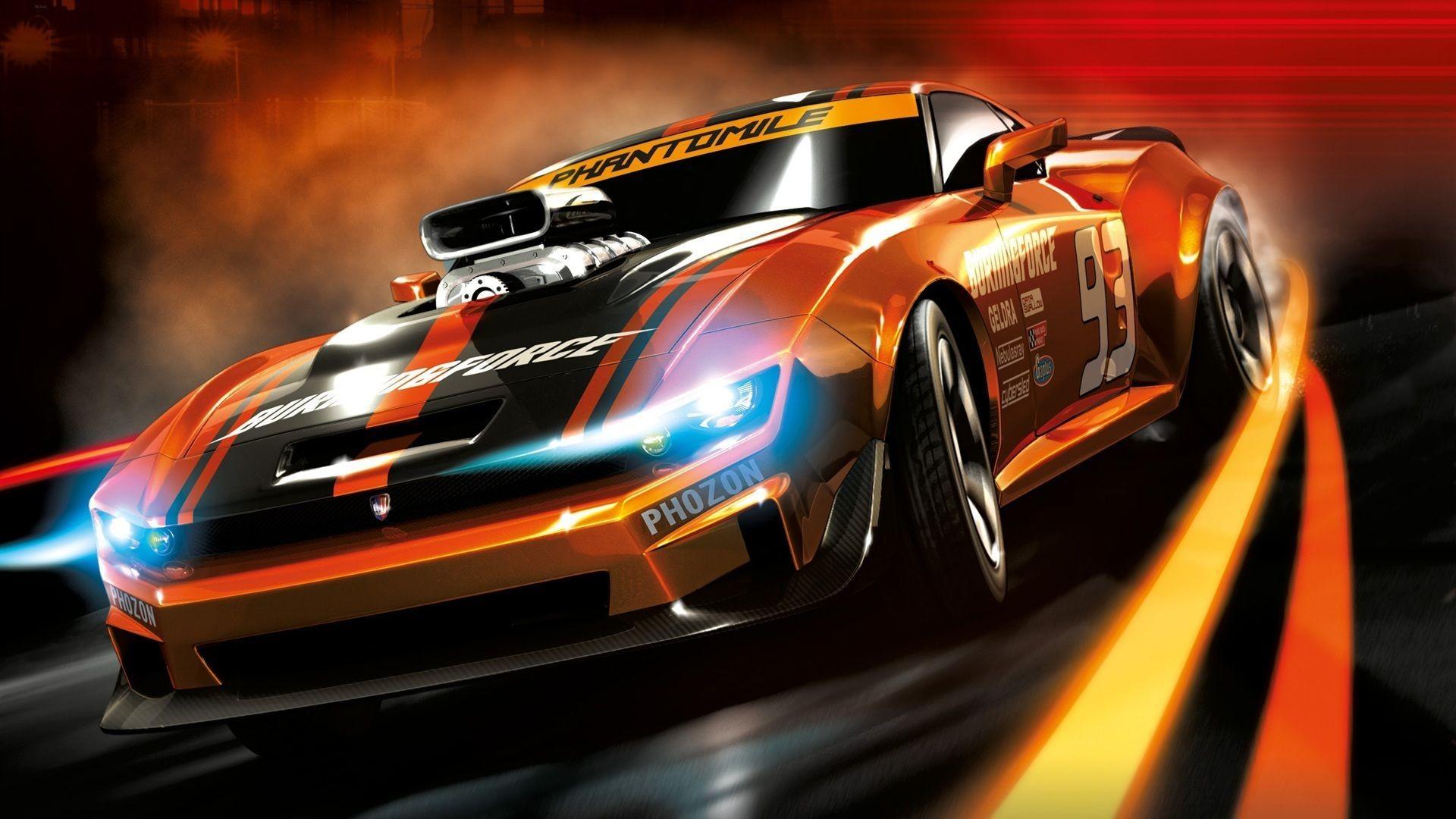 Car Racing Wallpaper