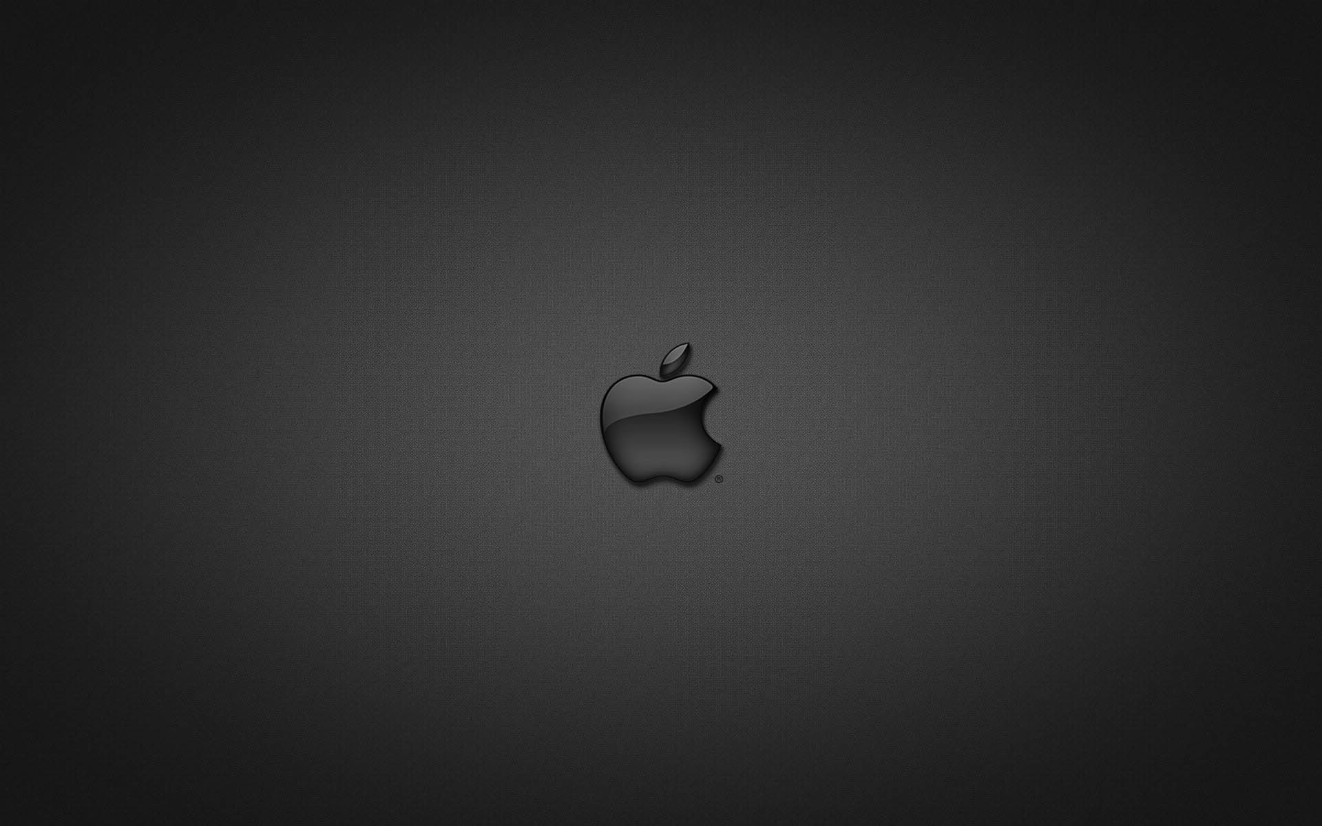 Wallpaper Black Apple