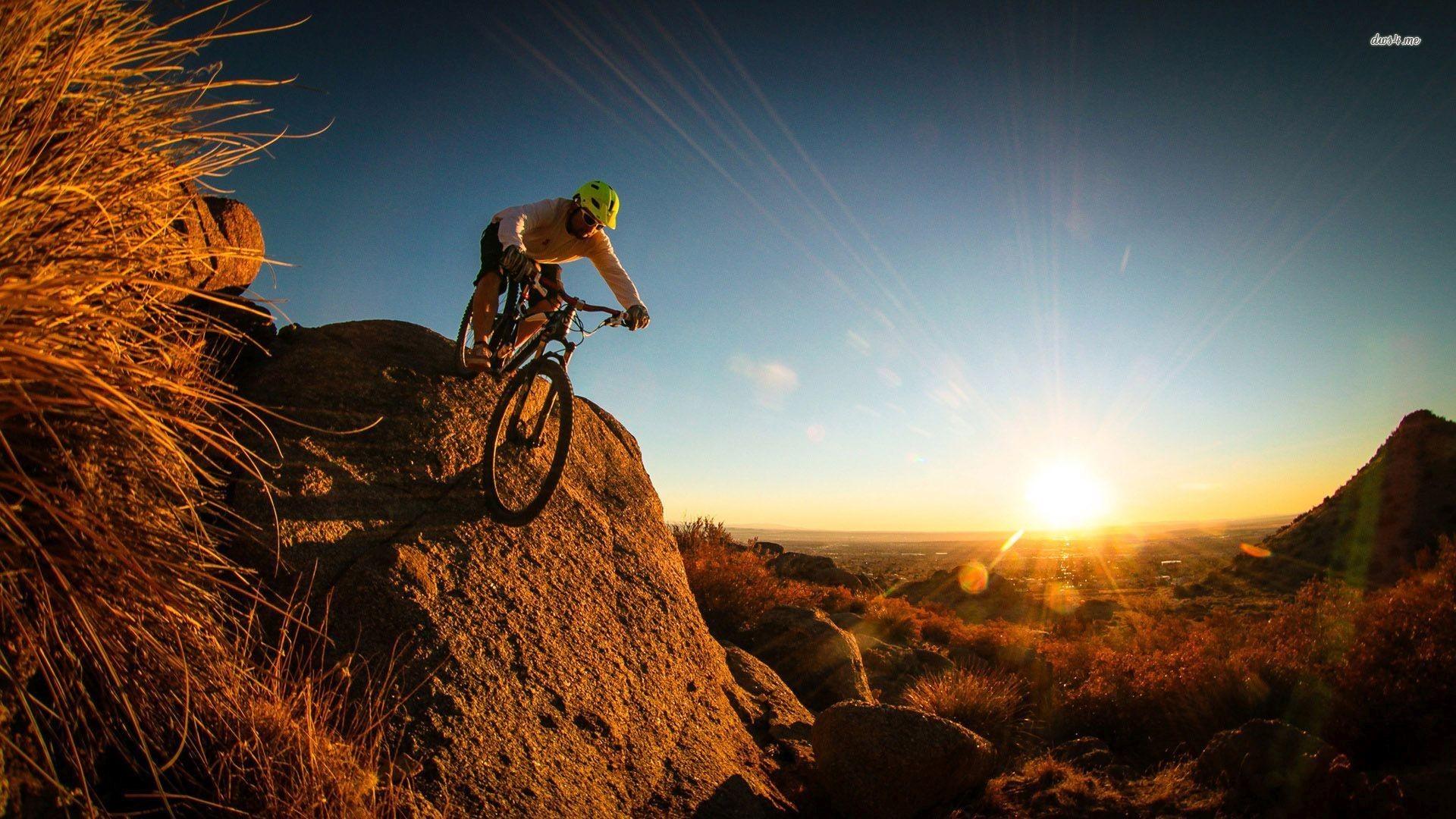 mountain-bike-racing-jump-style-wallpaper | Mountain biking | Pinterest