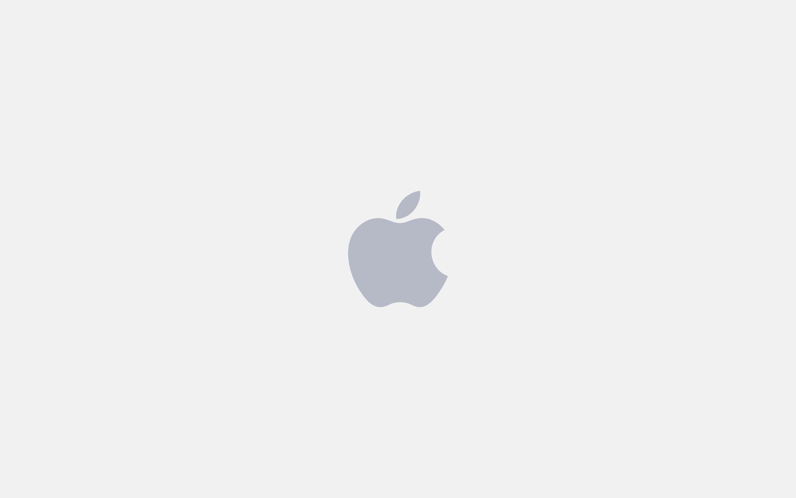 Minimal Apple Logo Wallpaper