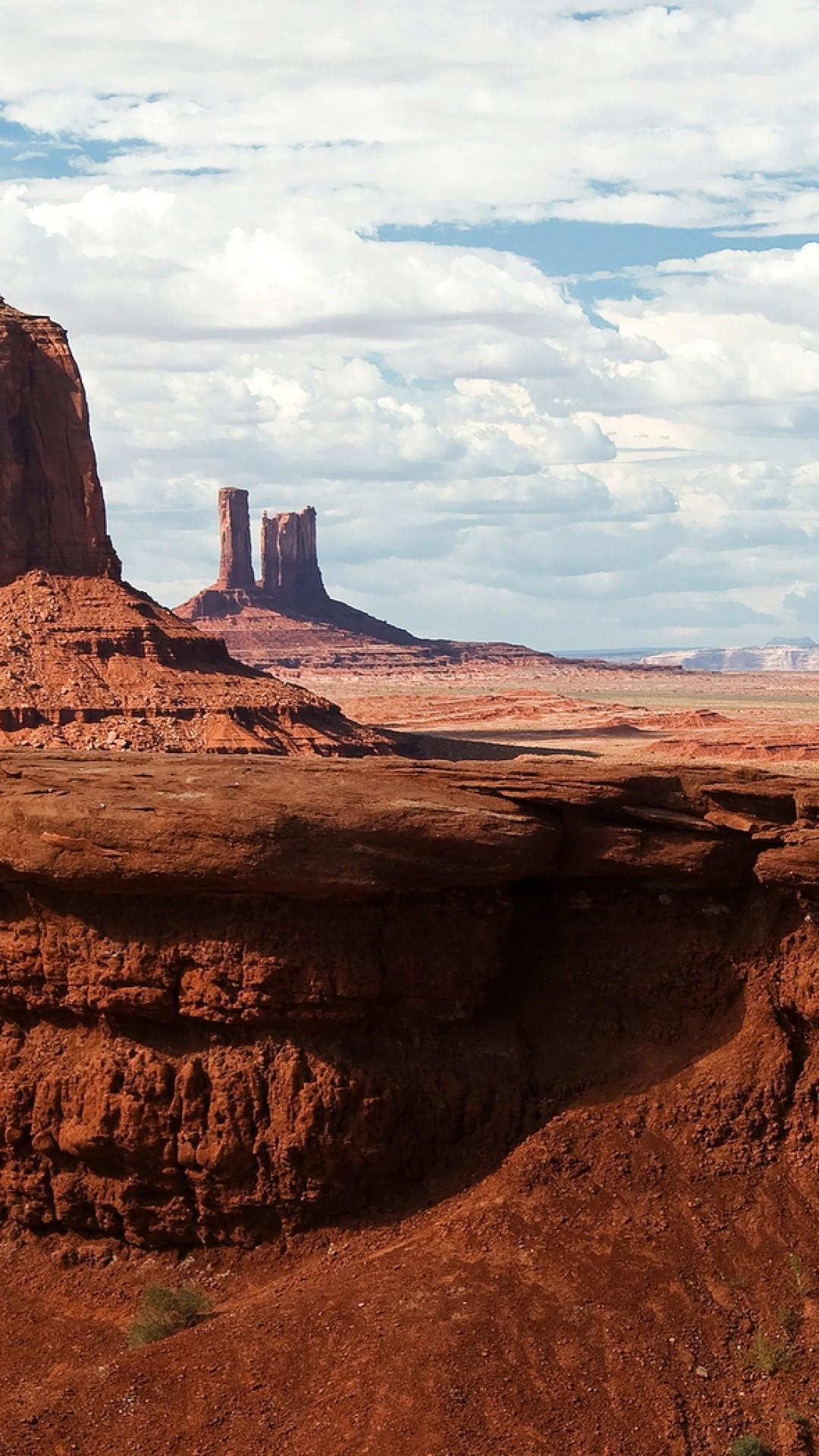 Preview wallpaper canyon, desert, horseback rider, wild west, cowboy  1080×1920