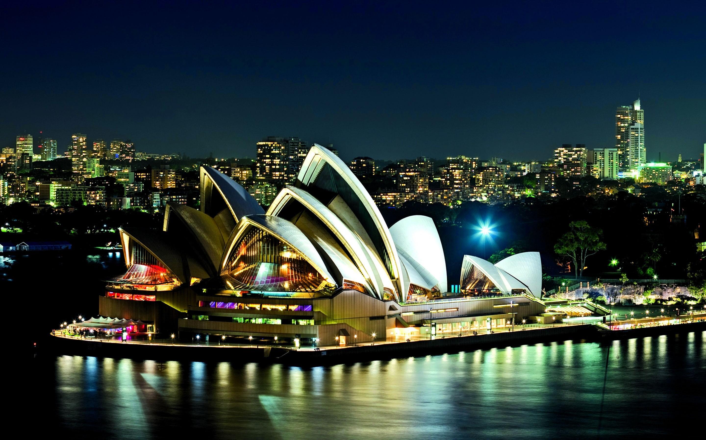 Sydney Night City HD Wallpaper 2017