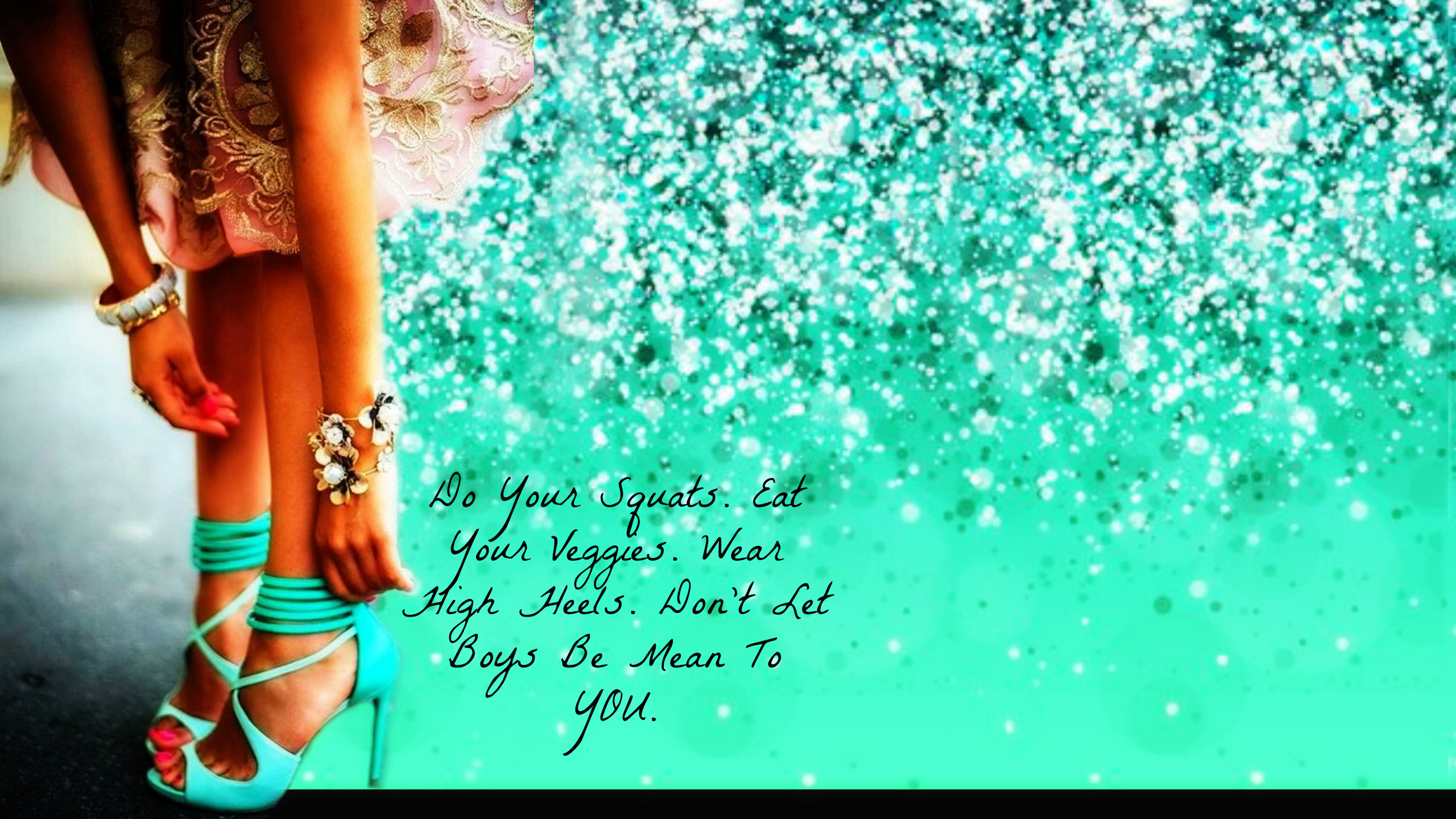 Free Computer Wallpaper Mermaids & Cute Shoes | Momma T Fitness