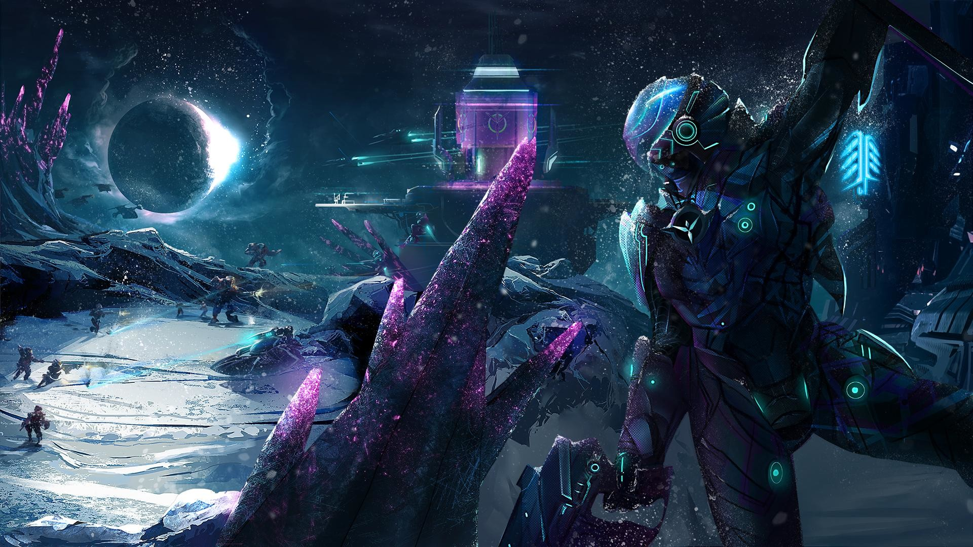 Here is a Planetside 2 fan art …