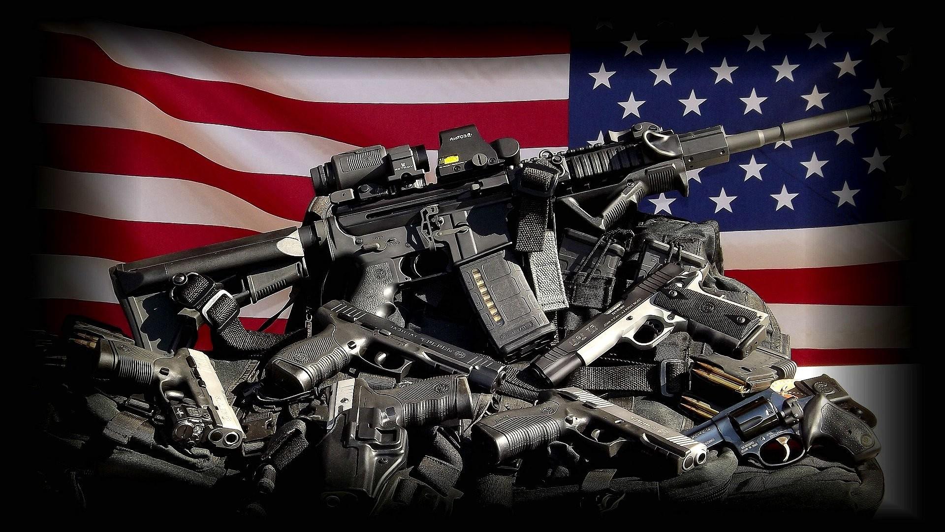 GUN CONTROL weapon politics anarchy protest political weapons guns usa  milityary flag wallpaper     487260   WallpaperUP