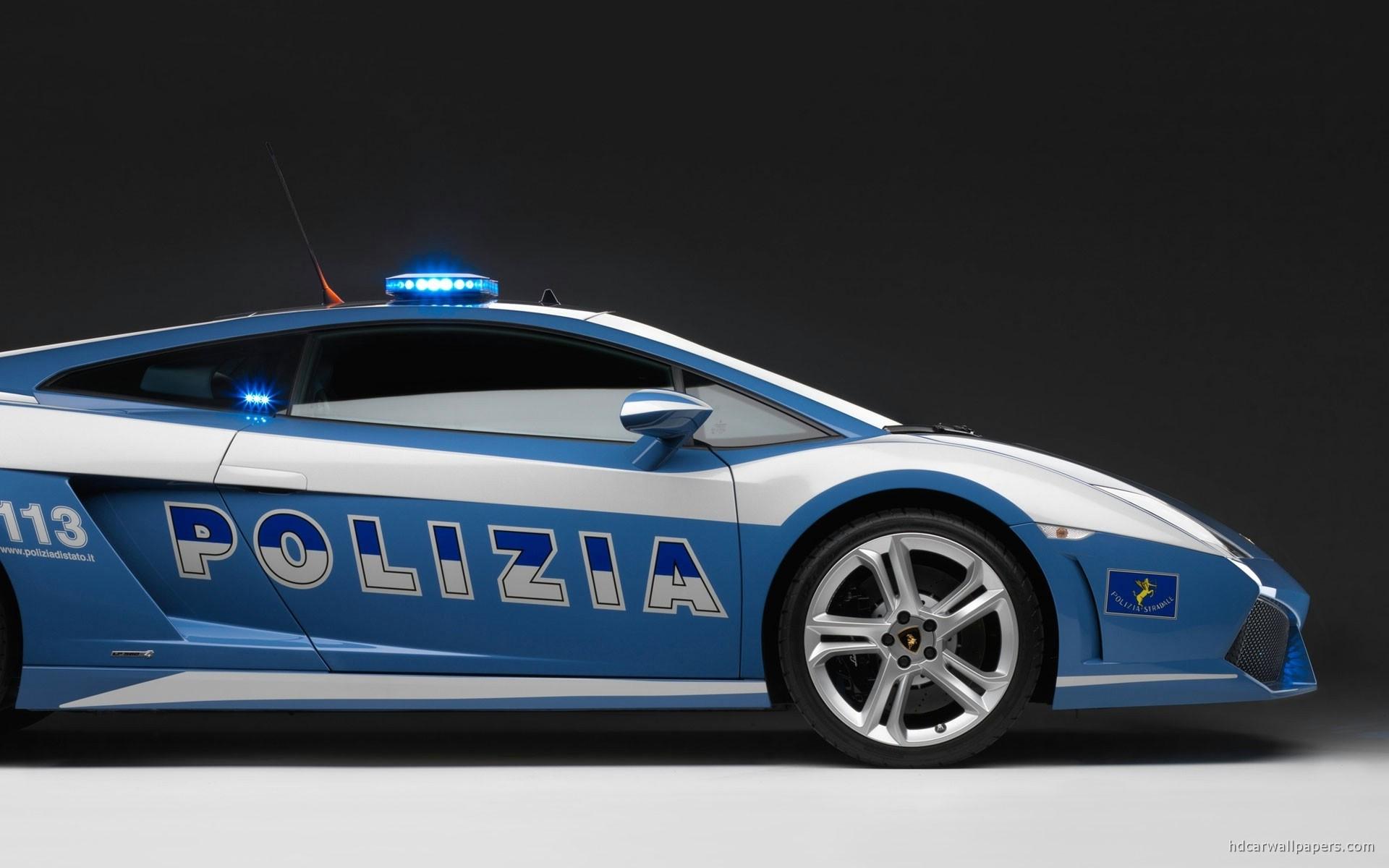 2009 Lamborghini Police Car Wallpaper in Resolution