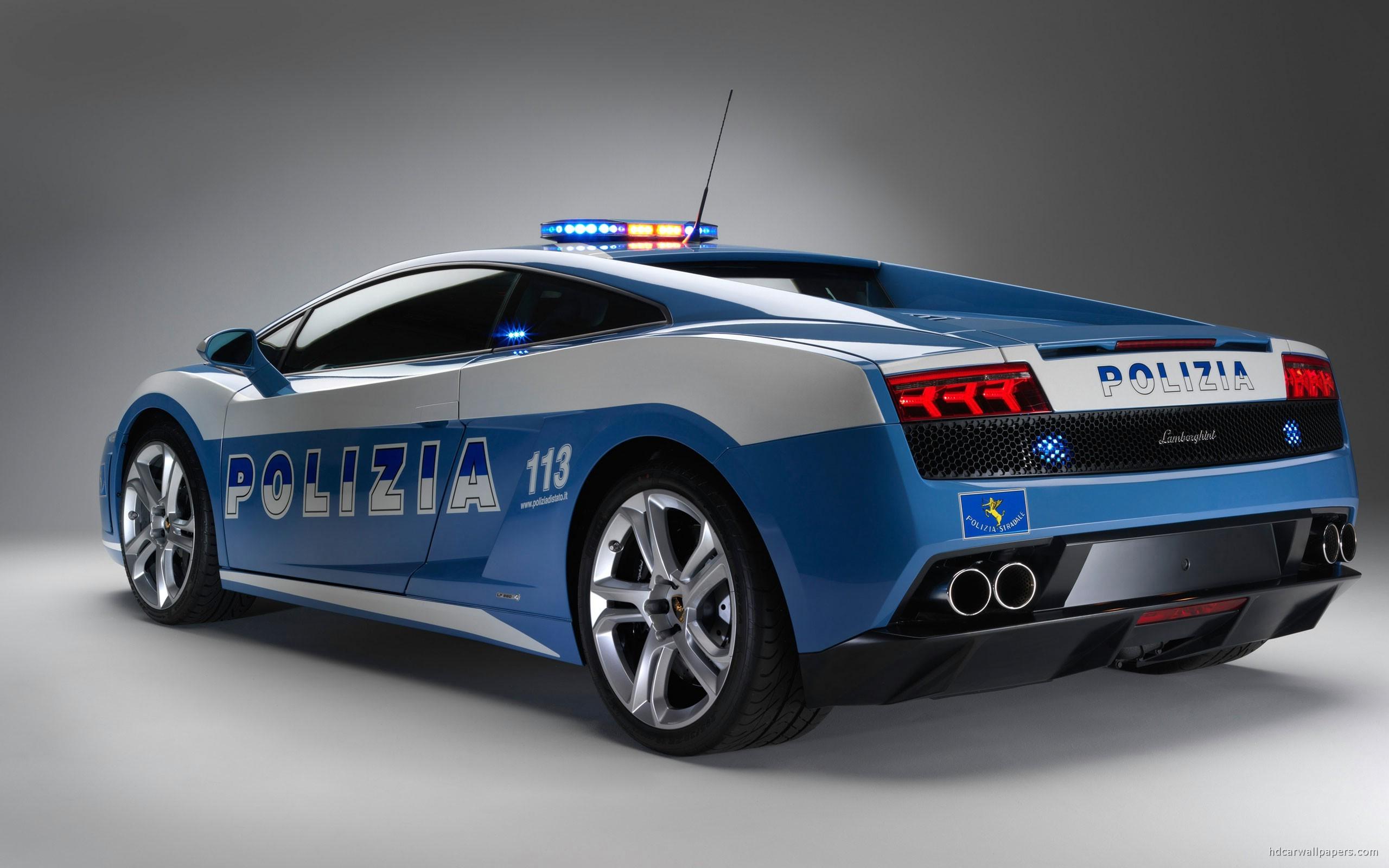 Lamborghini Gallardo Police Car Wallpaper   HD Car Wallpapers