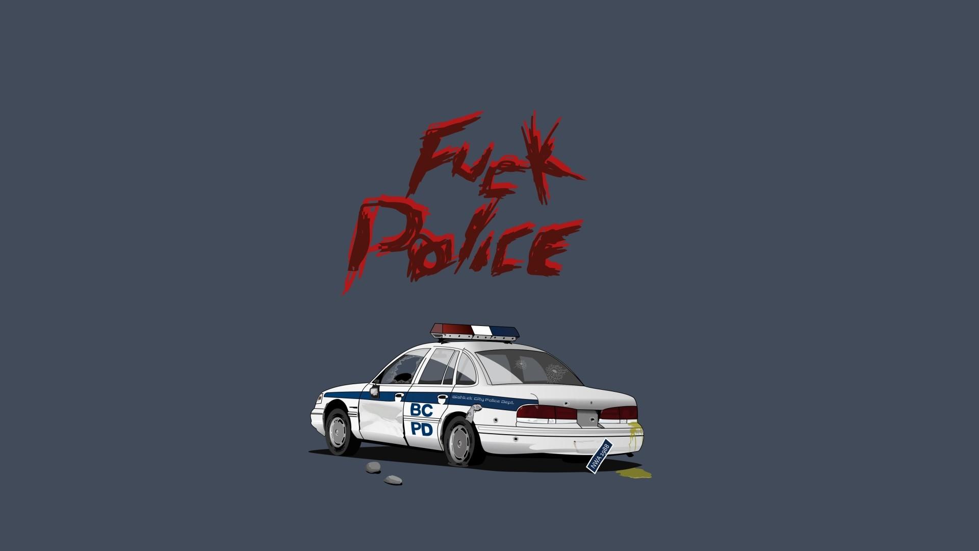 Fuck Police Wallpaper