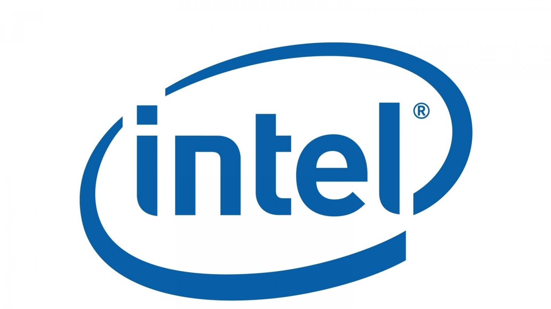Wallpaper intel, logo, symbol, brand