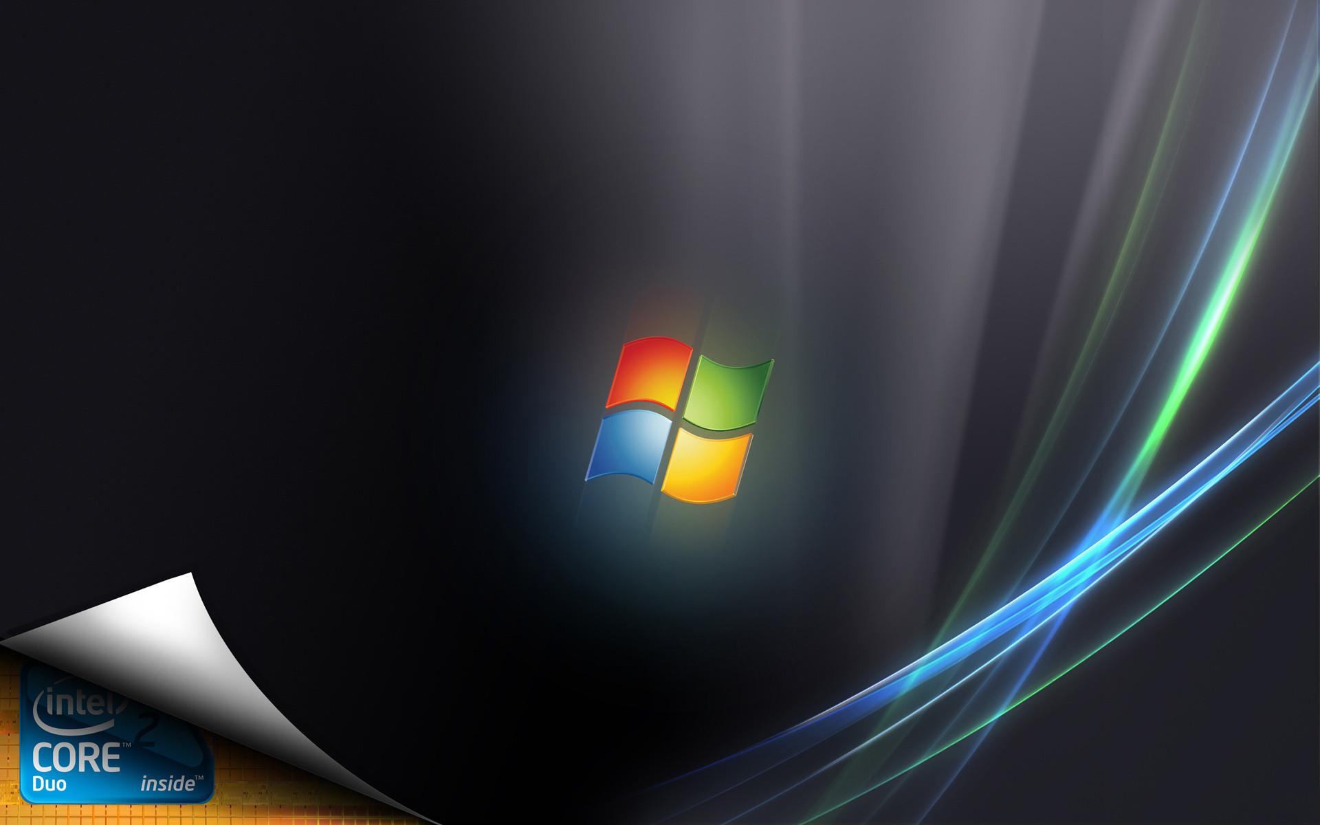 Vista and Intel #30662 HD Wallpaper