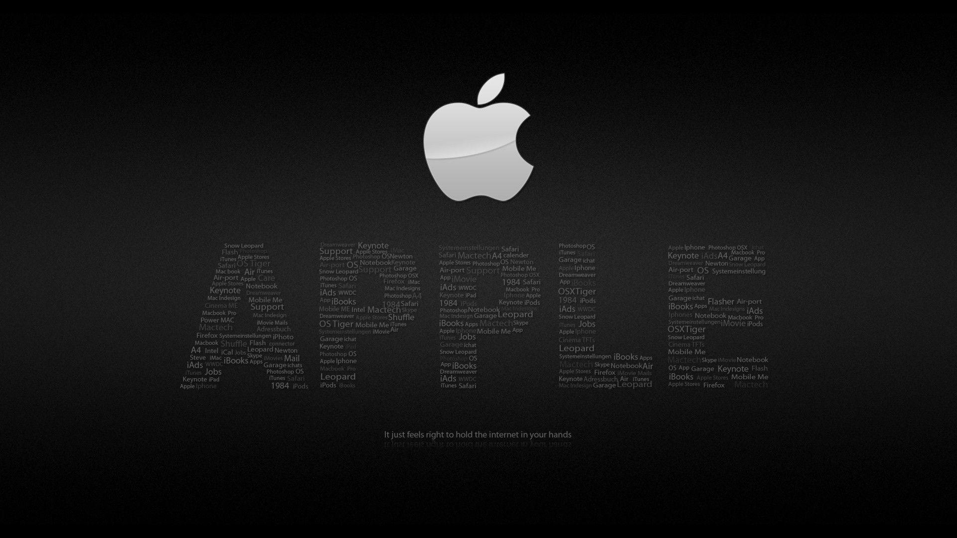 Apple Black HD wallpaper Â« HD Wallpapers
